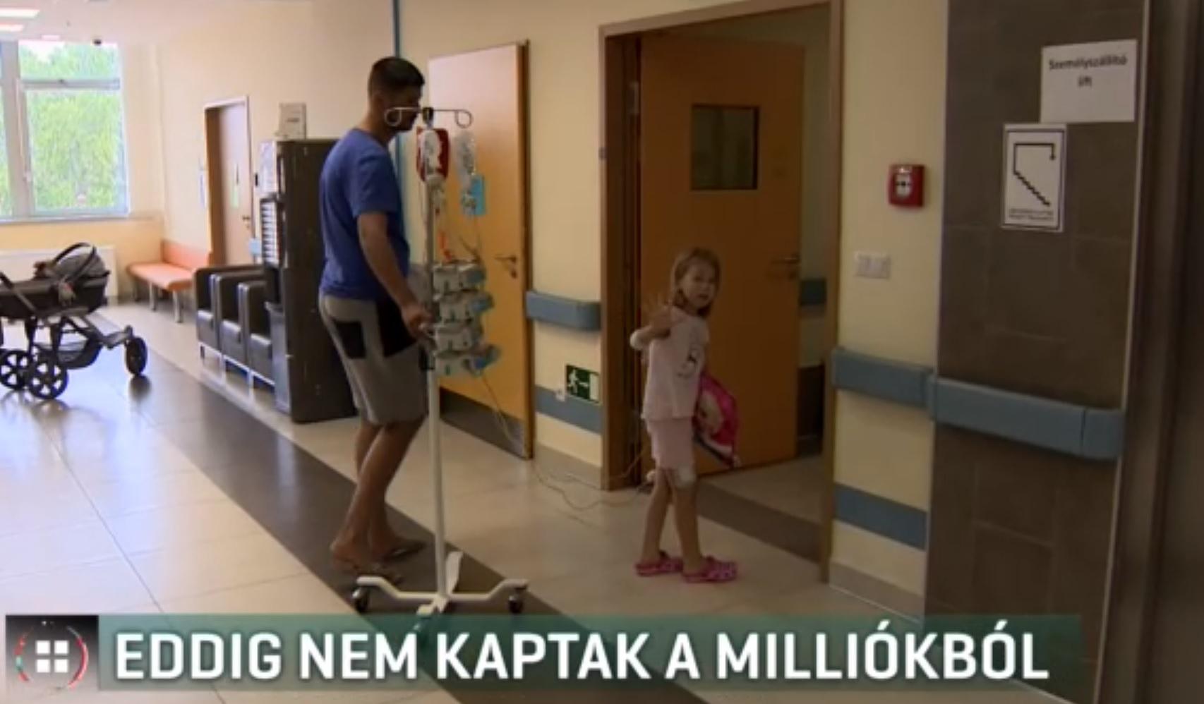 Milliókat gyűjtöttek a beteg kislánynak, az alapítvány mégsem utalja át a családnak a pénzt