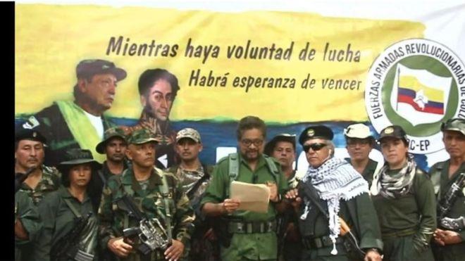 A FARC egyik korábbi vezetője újra fegyvert ragad
