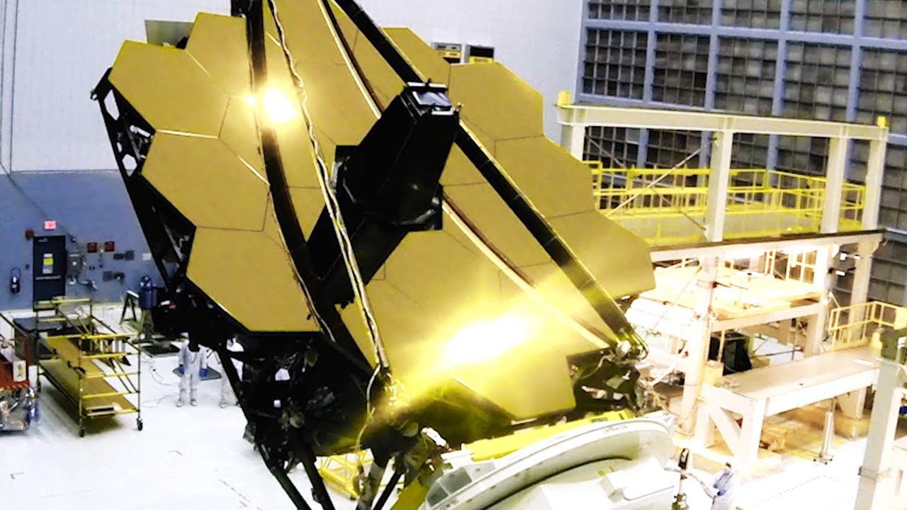 Összeállították a Hubble utódját, a James Webb űrteleszkópot