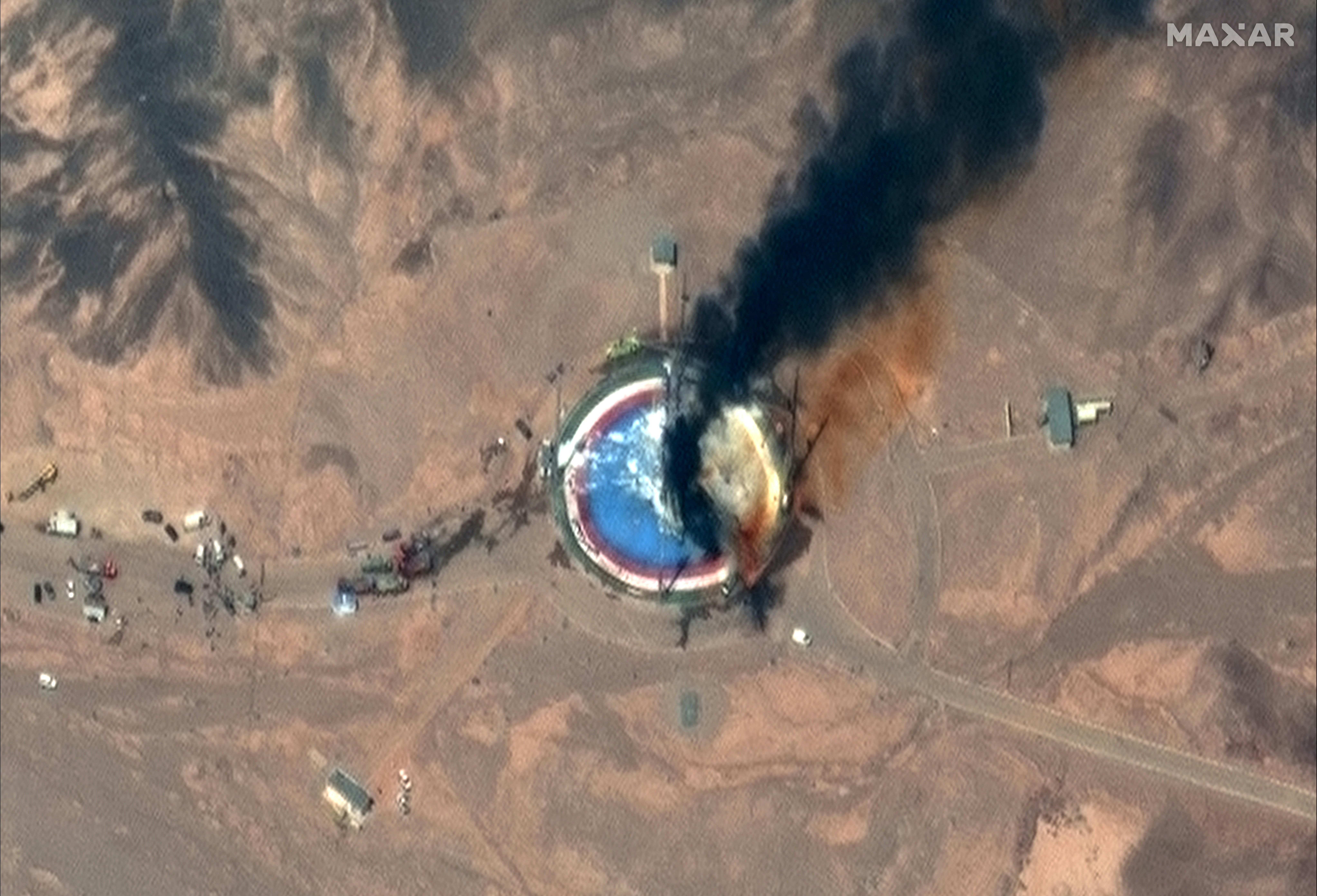 Irán elismerte, hogy egy teszten felrobbant egy műholdhordozó rakétája