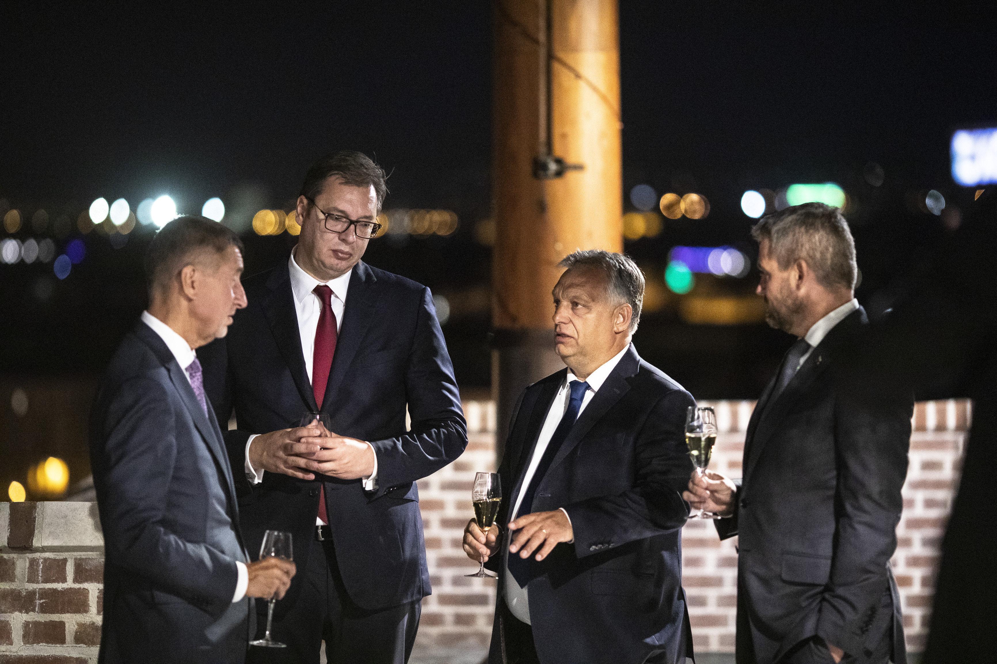 A szerb elnök tévéinterjúban méltatta Borkai Zsoltot