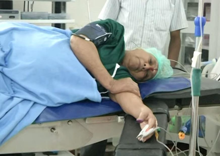 Ikreket szült egy 73 éves nő Indiában