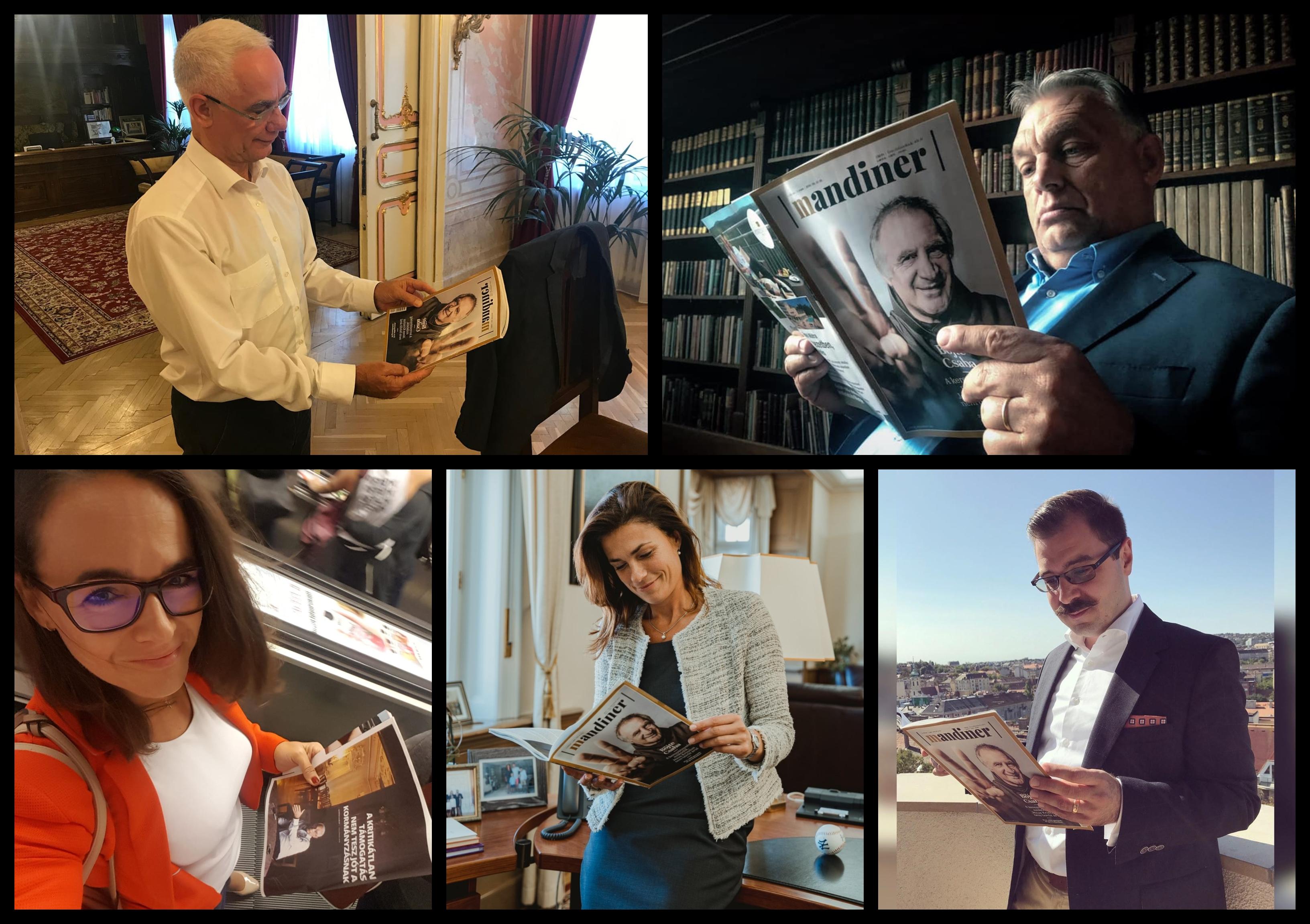 A legnépszerűbb fideszes influencerek álltak be promózni az új hetilapjukat