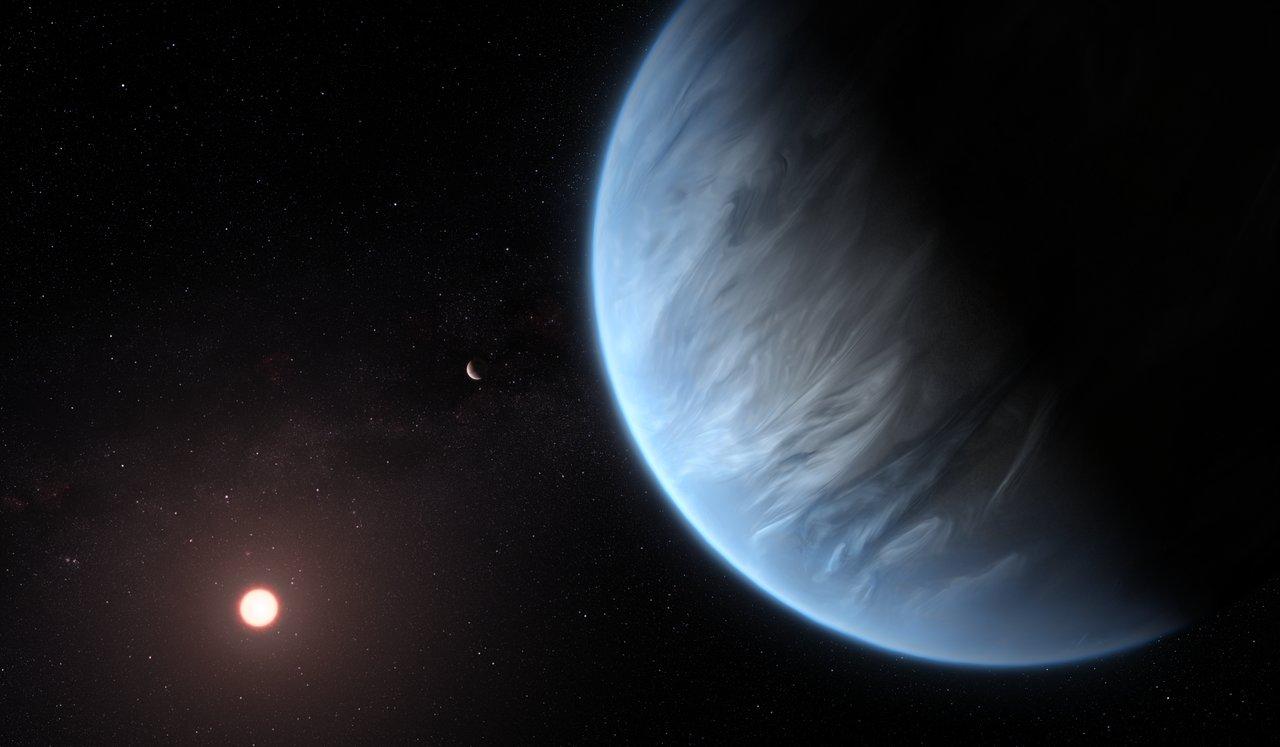 Először találtak vizet egy potenciálisan lakható, távoli bolygó légkörében