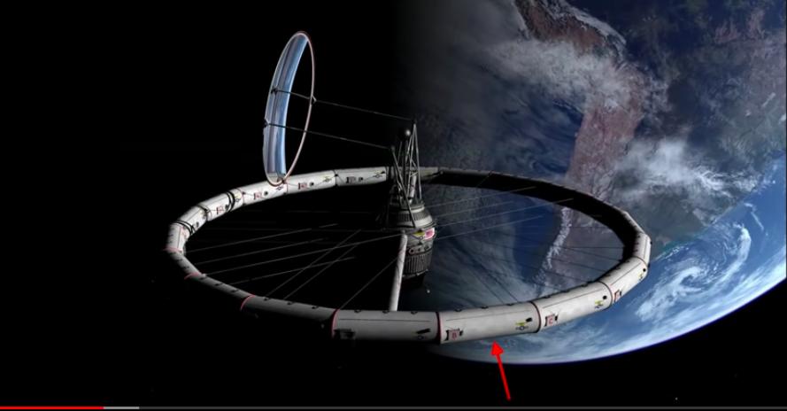 Gazdag turistáknak akarja megépíteni az első igazán sci-fibe illő, forgó mozgással mesterséges gravitációt keltő űrállomást egy amerikai cég