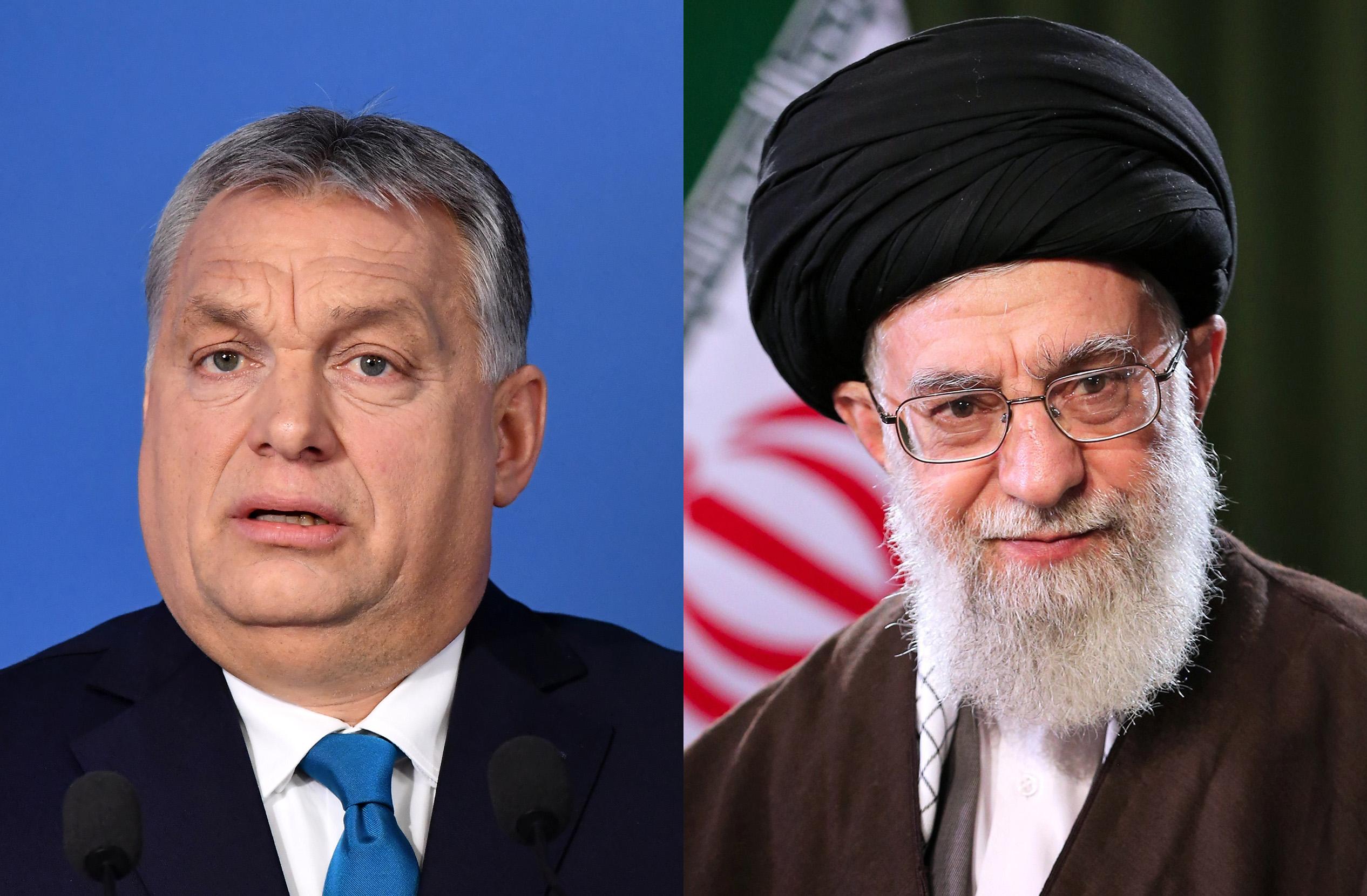 Itt van két szöveg, az egyiket Orbán Viktor, a másikat az iráni despota mondta