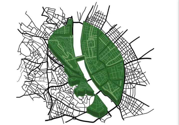 Puzsér csapata felfestette a budapesti sétálózóna határait