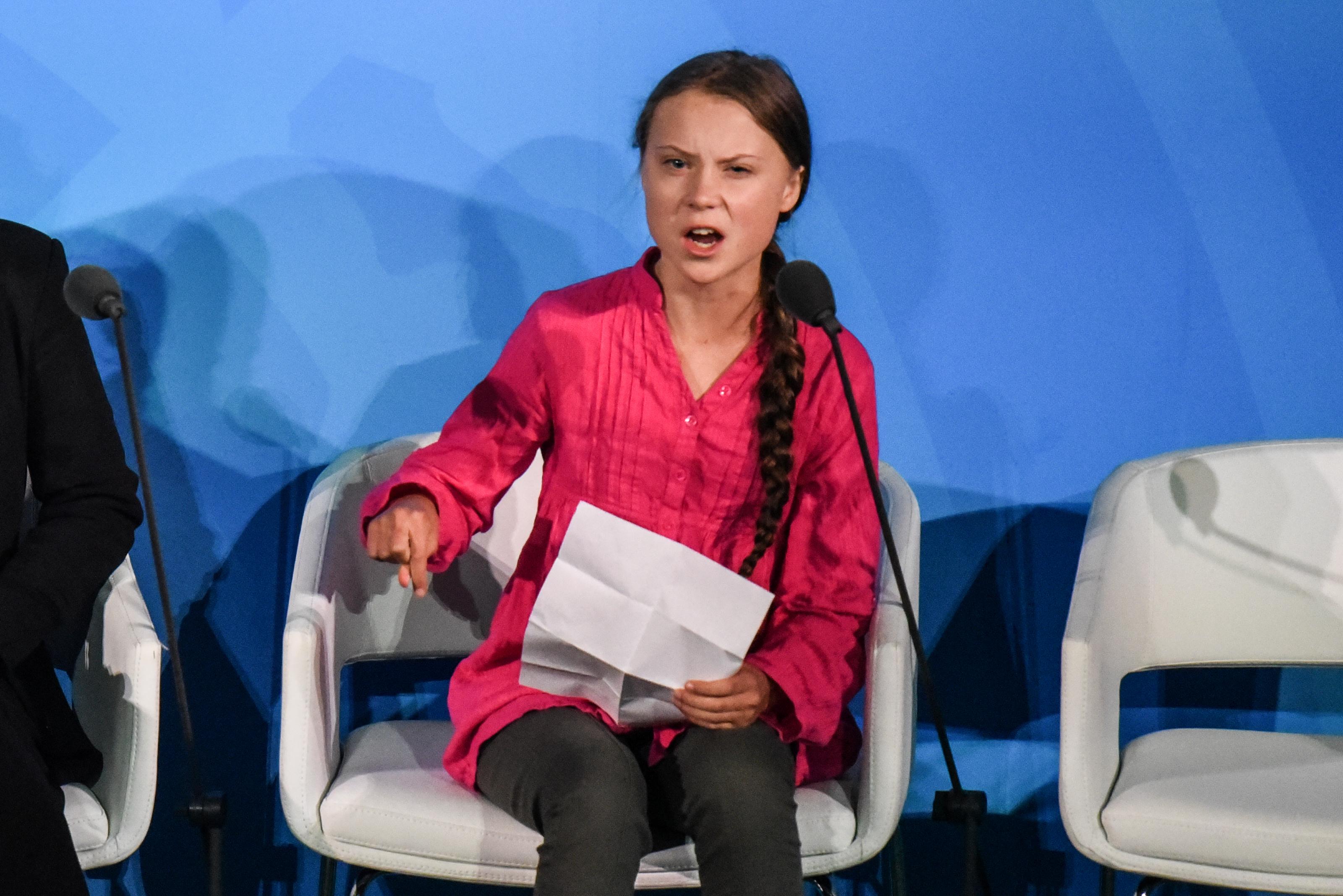 Greta Thunberg kiosztotta a világ vezetőit az ENSZ klímacsúcsán