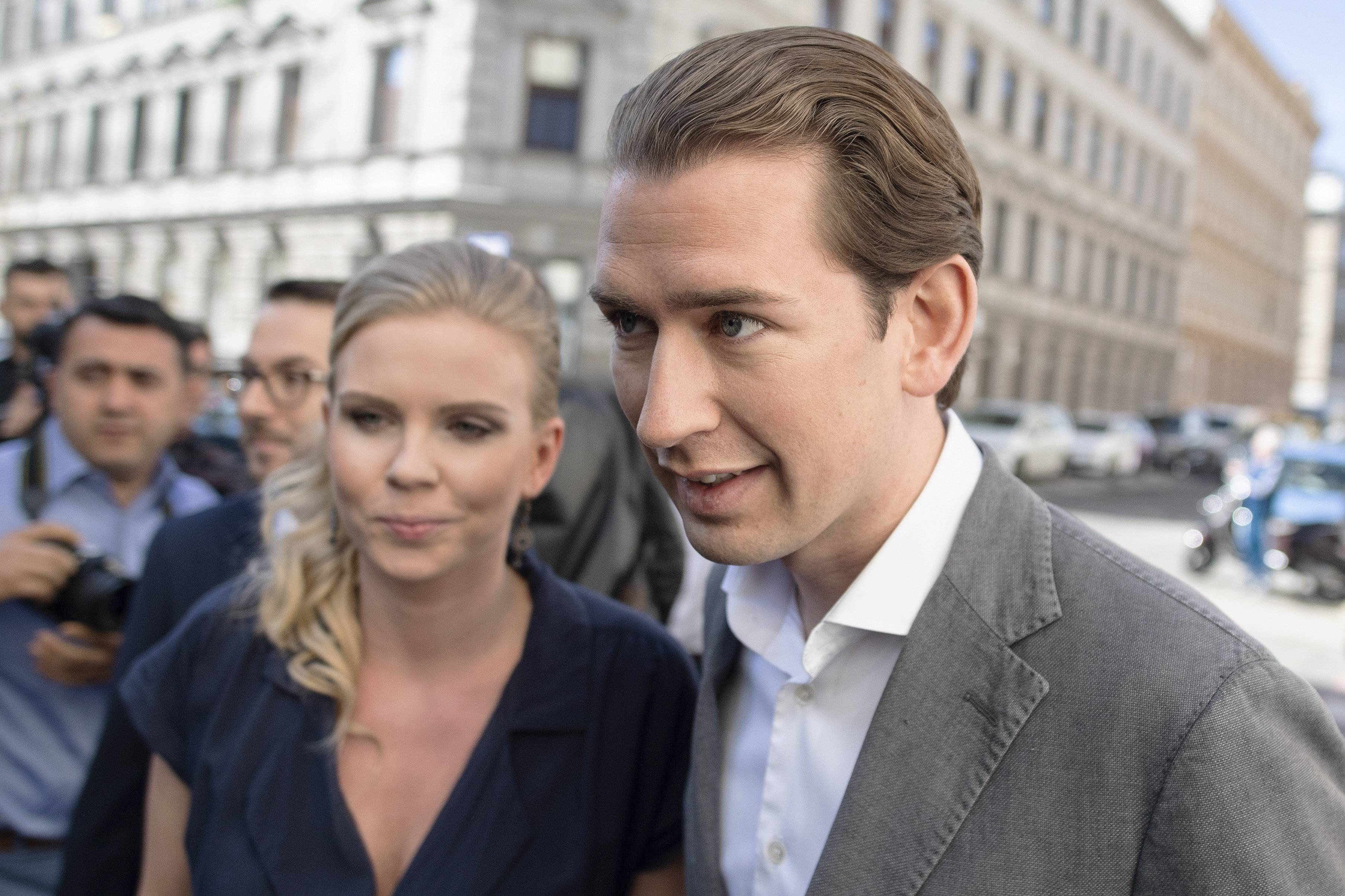 Az osztrák zöldek is tárgyalnának a kormányalakításról a Néppárttal