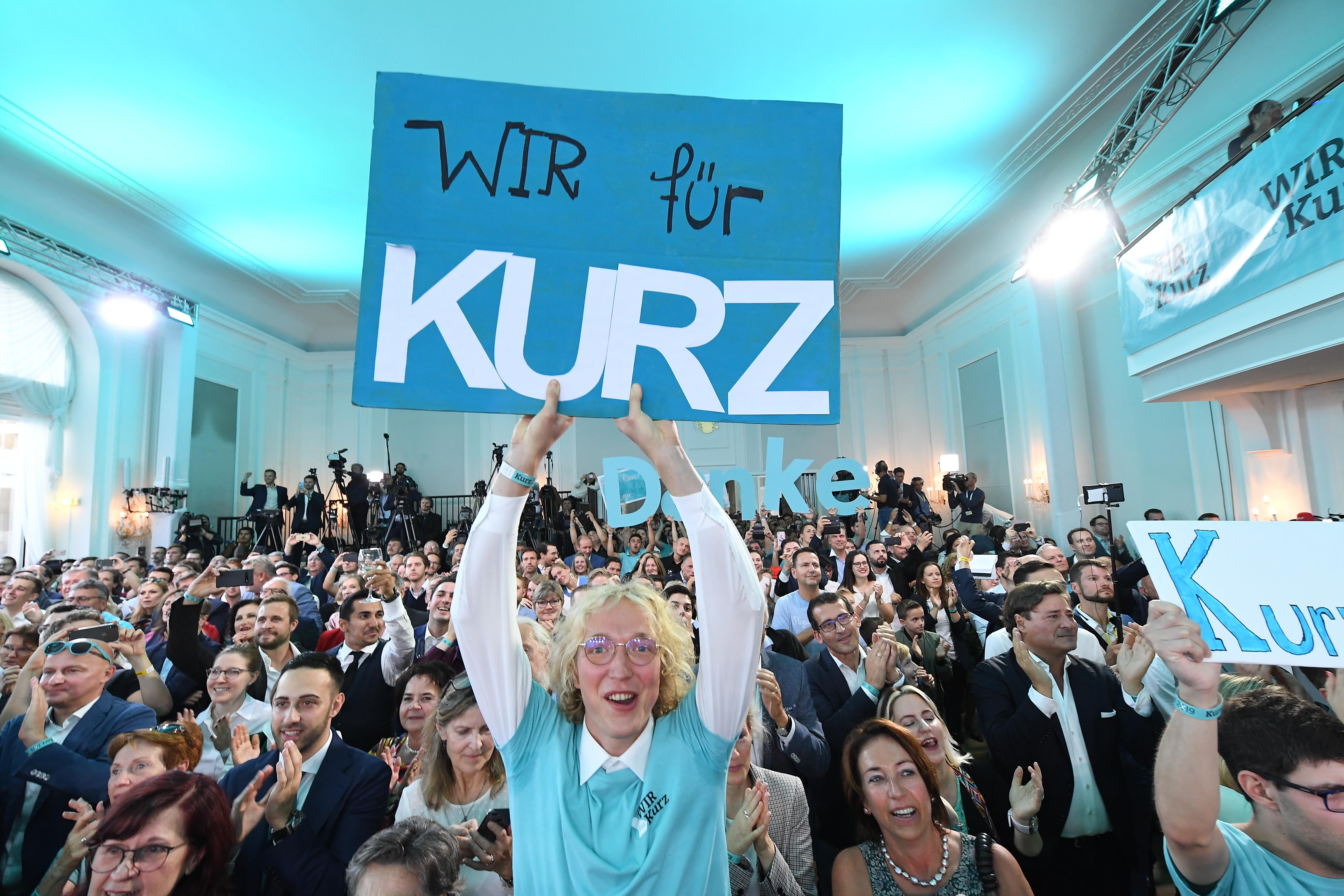 Az Osztrák Néppárt győzött, a szociáldemokraták az FPÖ előtt az ausztriai előrehozott választáson