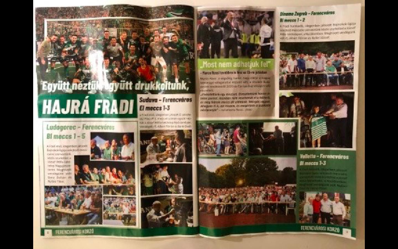 A Bácskai Jánost támogató kampánylapból derült ki, hogy ha a polgármester közös meccsnézést szervez, akkor is nyer a Fradi, ha nem nyer a Fradi