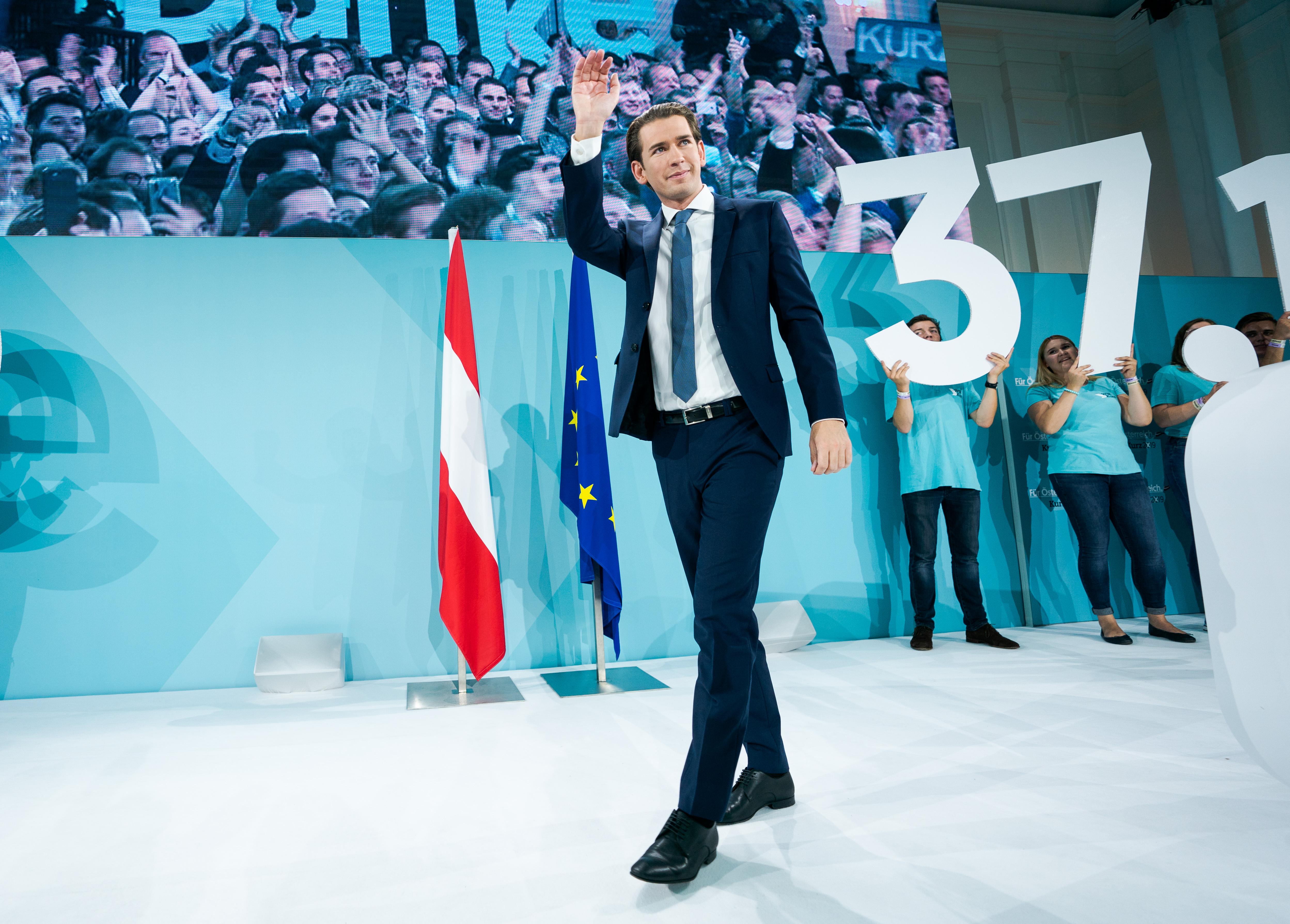 Sebastian Kurz fölényes győzelme ellenére is bizonytalanságot hozott az osztrák parlamenti választás