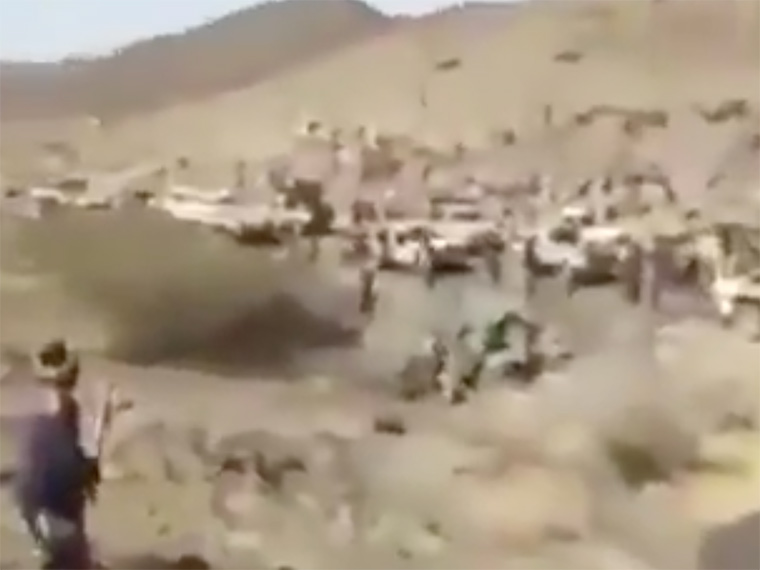 A jemeni húszik videóval bizonygatják, mennyire tehetetlen velük szemben a világ egyik legjobban pénzelt hadserege