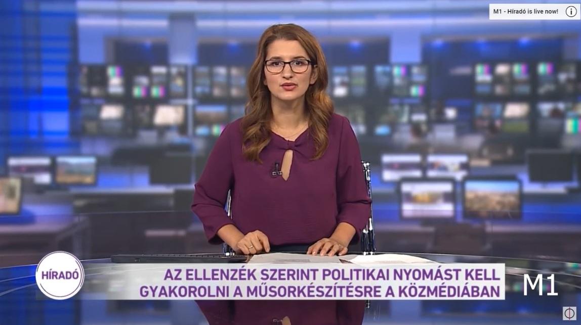 Meghamisította Hadházy sajtótájékoztatóját a közmédia