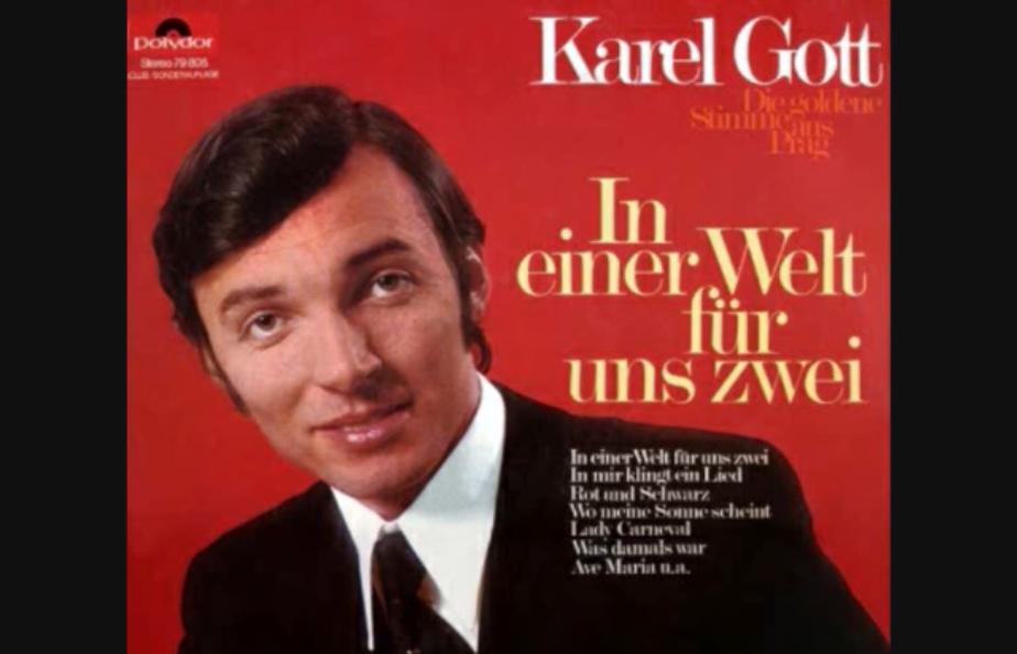 Így adta elő Karel Gott a Paint It Black-et a Rolling Stonestól, németül, német népdalnak feldolgozva
