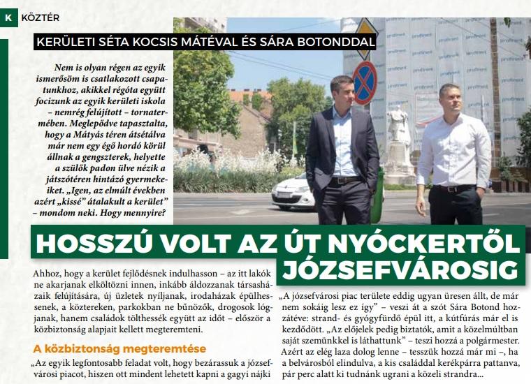 A józsefvárosi önkormányzati lap törvényt sértett, 20 oldalból 10-en szerepelt fideszes képviselő, míg egy darab ellenzéki sem