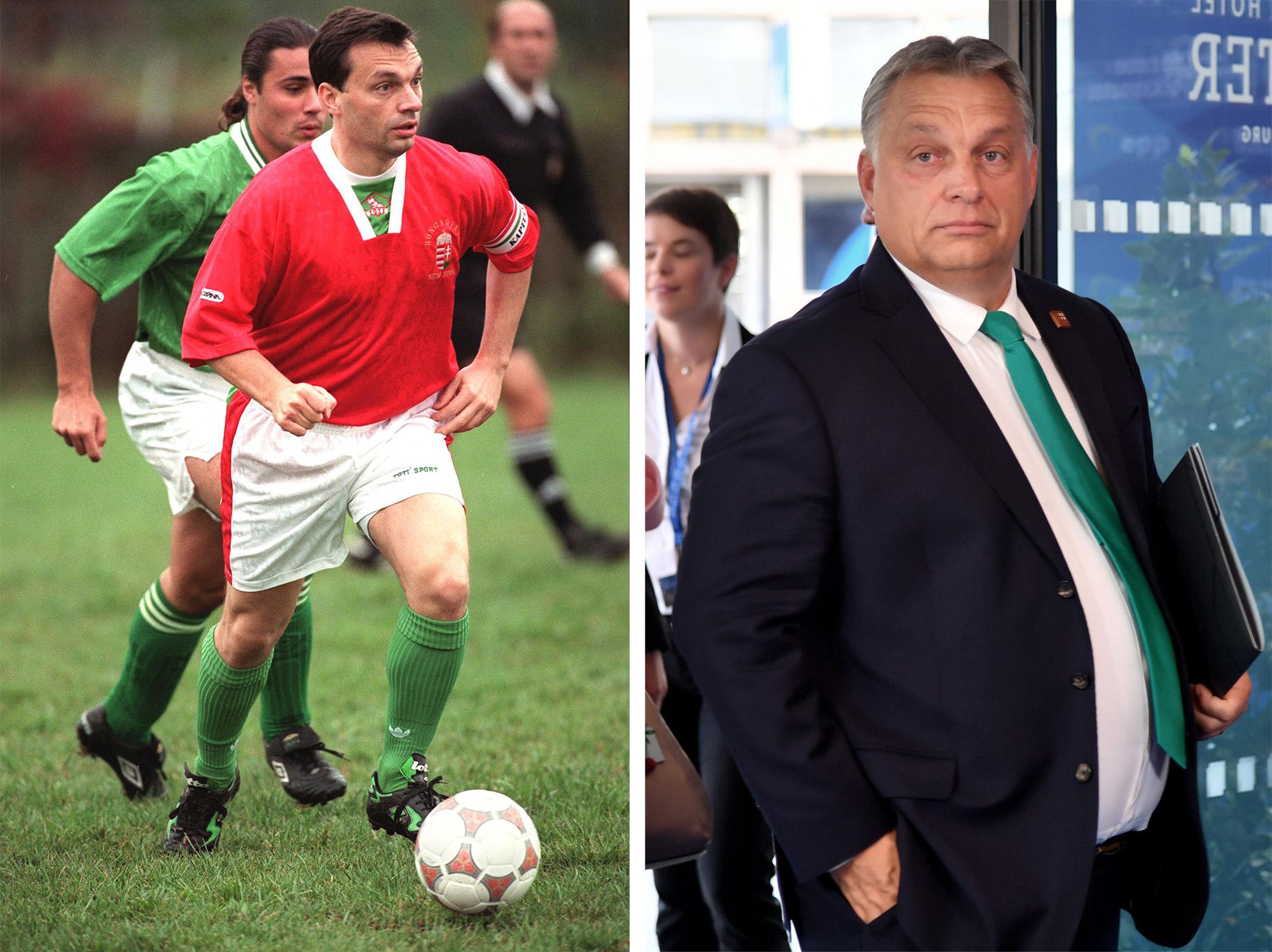 Orbán olyan focihasonlattal mutatta be a harcát Brüsszellel, hogy attól minden magyar szurkoló a szívéhez kap