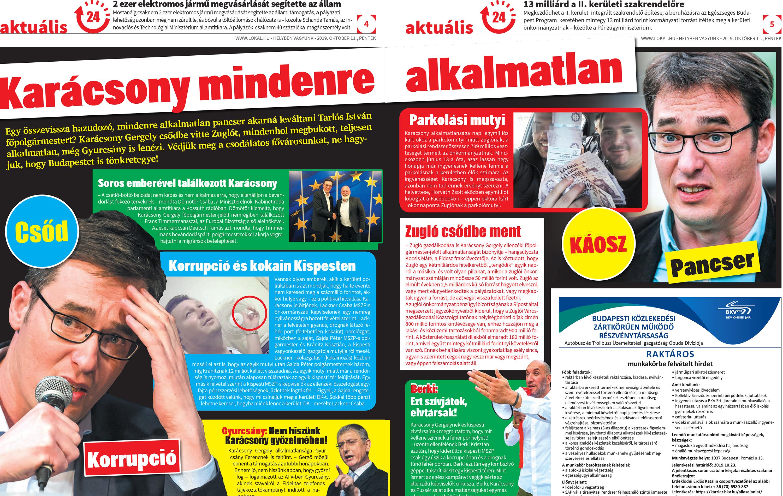 Nem vicc: Orbán és a Lokál siratja a magyar sajtószabadságot