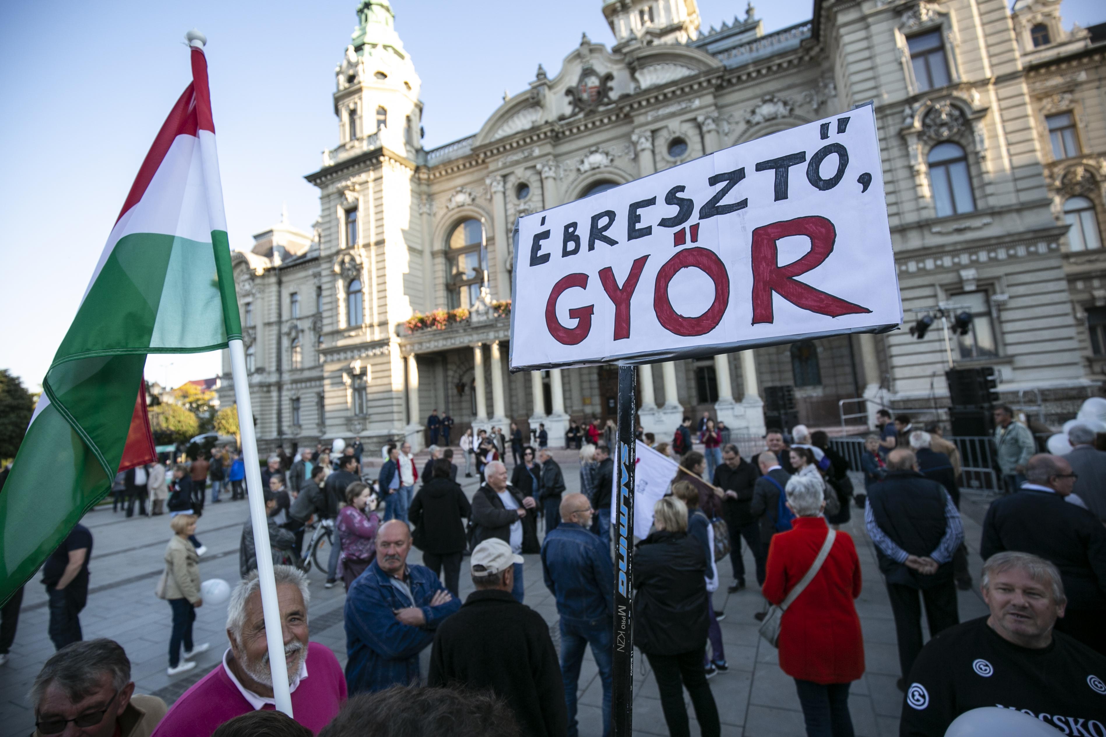 Valamivel alacsonyabb a részvétel Győrben, mint az őszi választáson