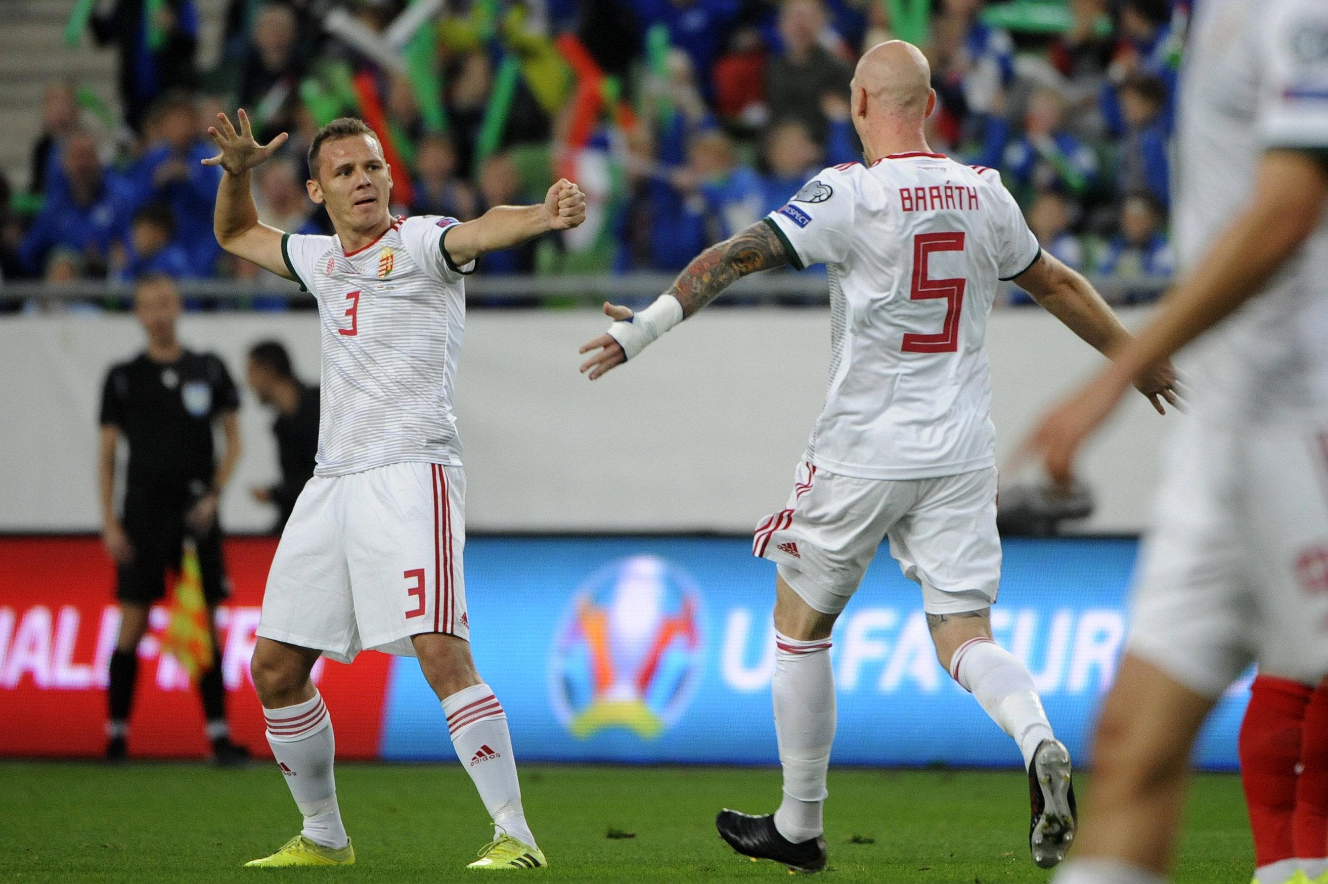 A magyar válogatott 1-0-ra verte meg Azerbajdzsánt, amitől egy szabályos gólt elvett a bíró