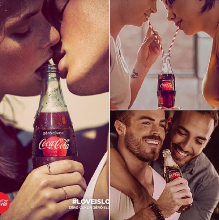 A kormányhivatal titokban megbírságolta a Coca-Colát a korábban homofób botrányt kavaró plakátjai miatt