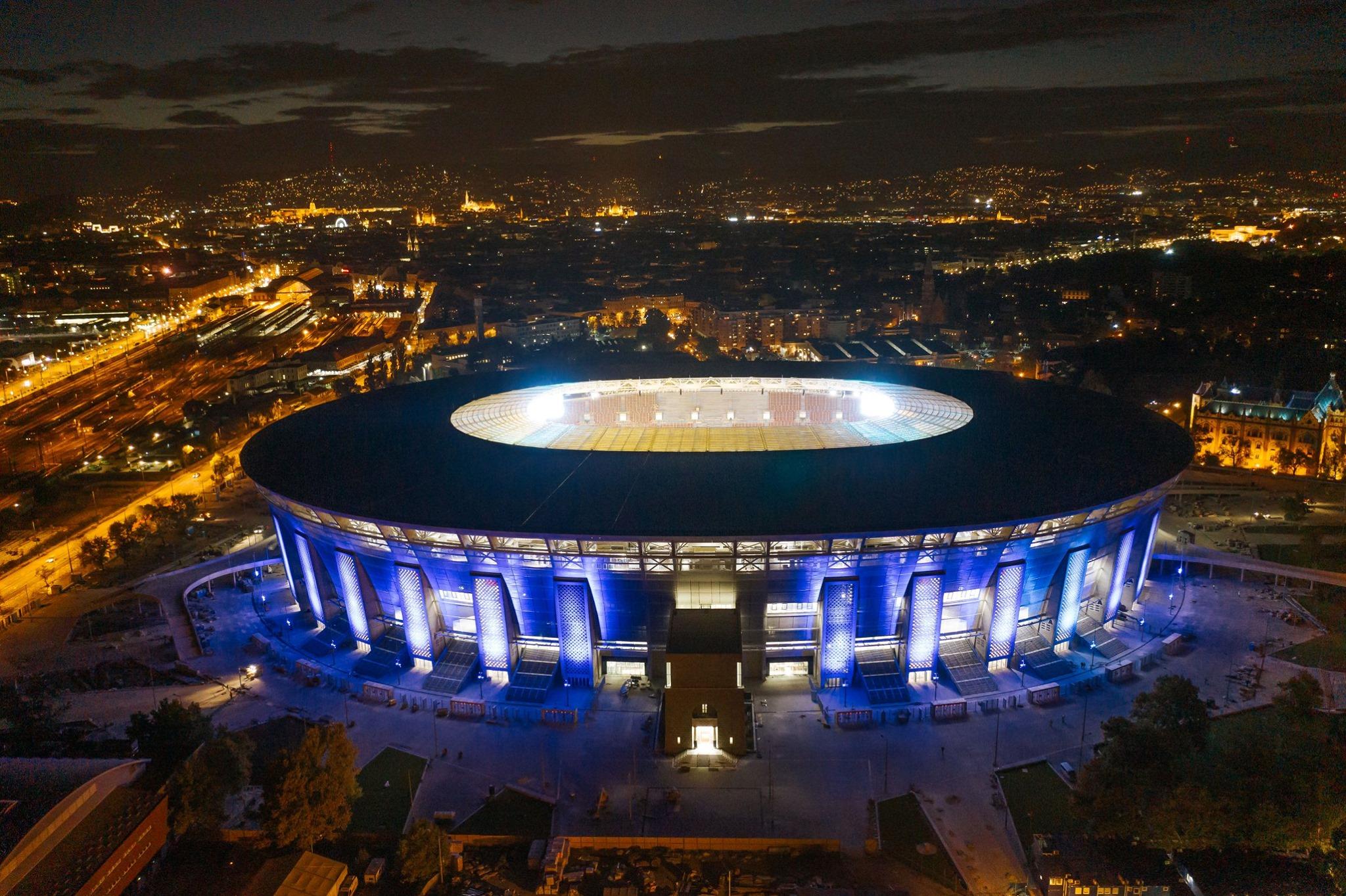 Áramkimaradás volt a Puskás Aréna környékén, az ELMŰ szerint nem a stadion miatt