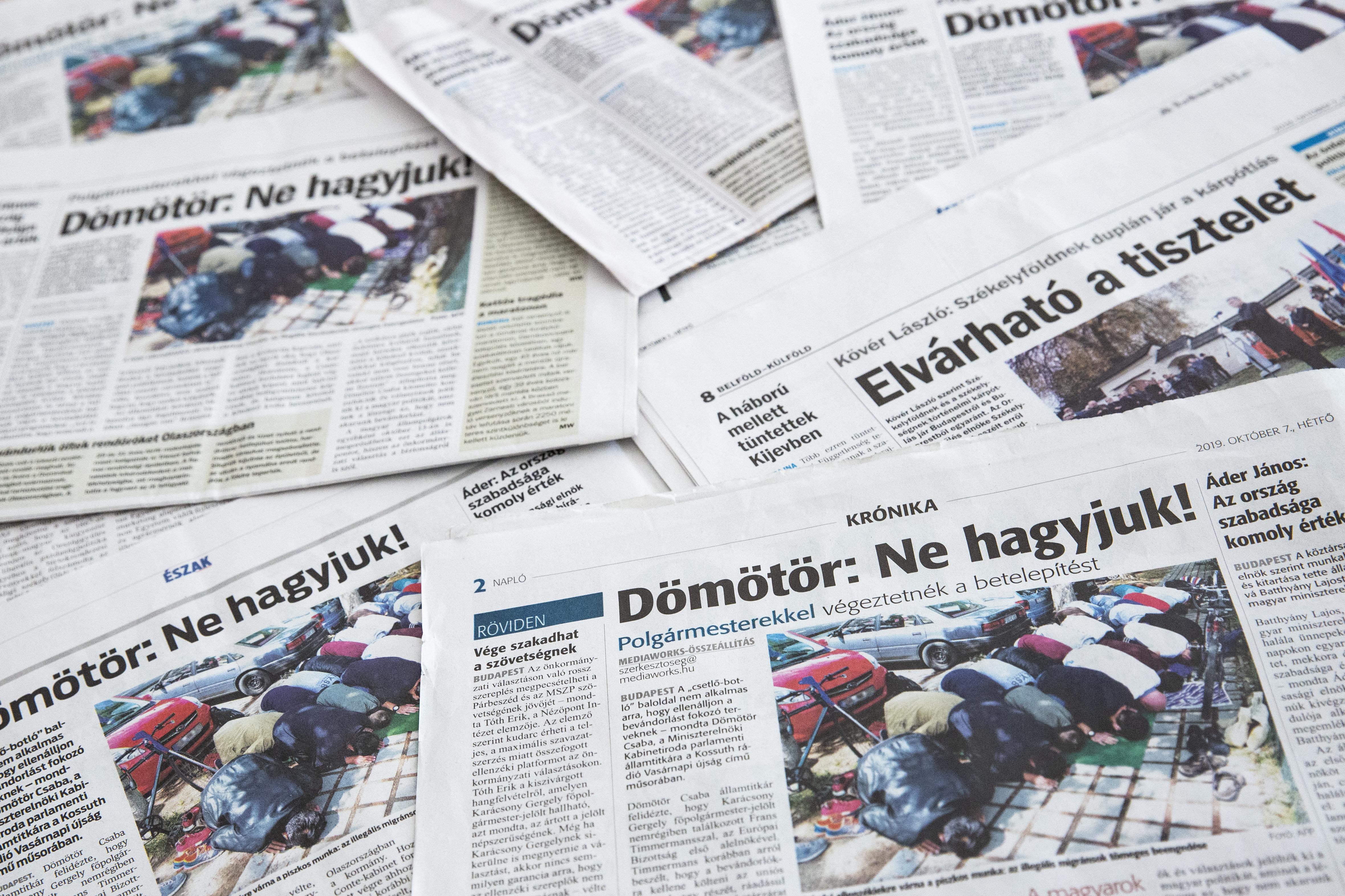 Nem alaptörvényellenes a kormányrendelet, ami  nemzetstratégiai jelentőségűvé minősítette a Közép-Európai Sajtó és Média Alapítványt