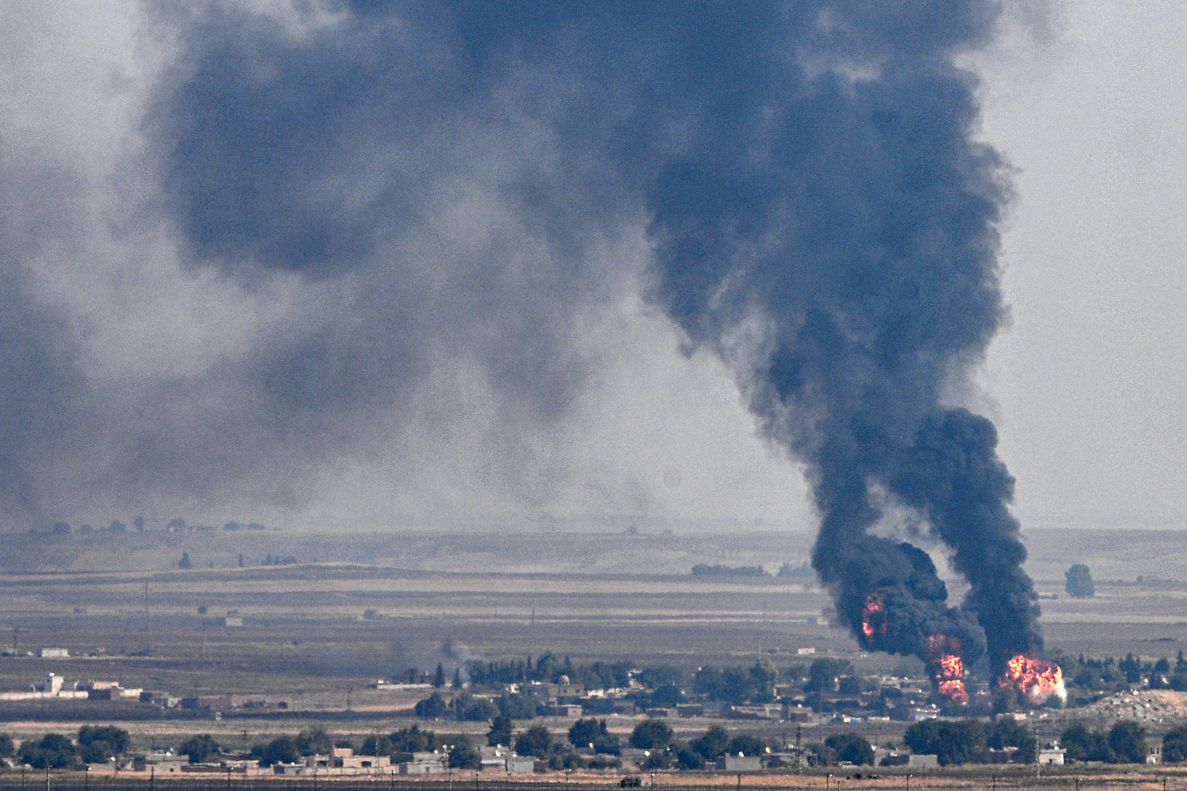 Törökország előre tagadja, hogy vegyi fegyvert vetett volna be Szíriában