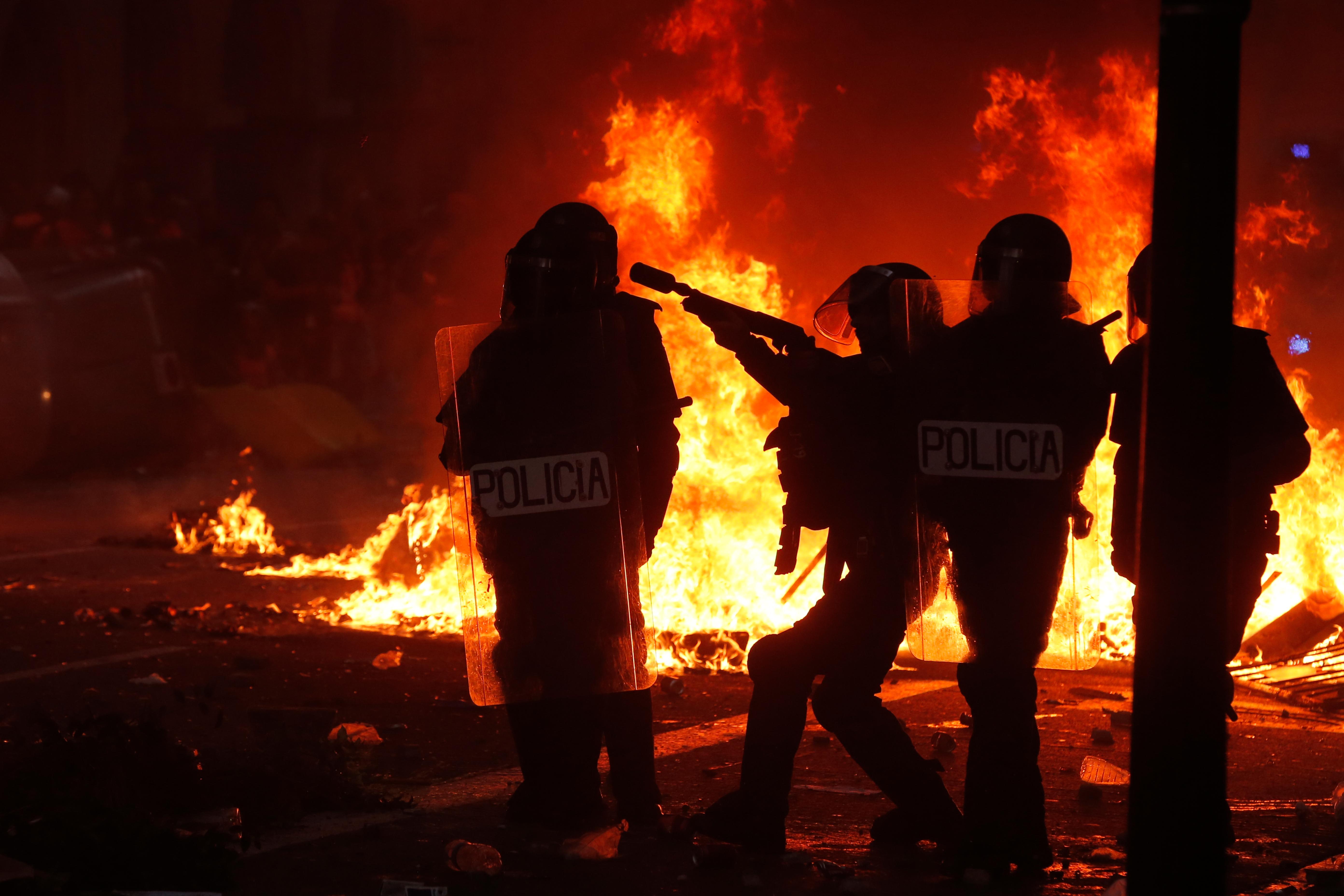 Torra: Az erőszakos tiltakozások nem tükrözik a katalán függetlenségi mozgalom békés természetét
