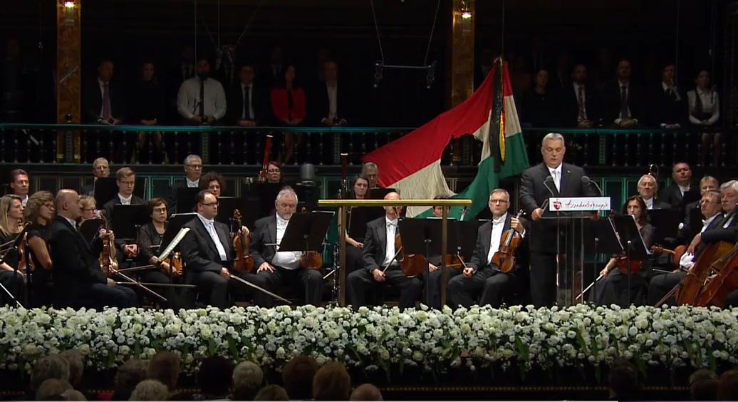 Orbán nem hozta tűzbe zártkörű hallgatóságát a Zeneakadémián