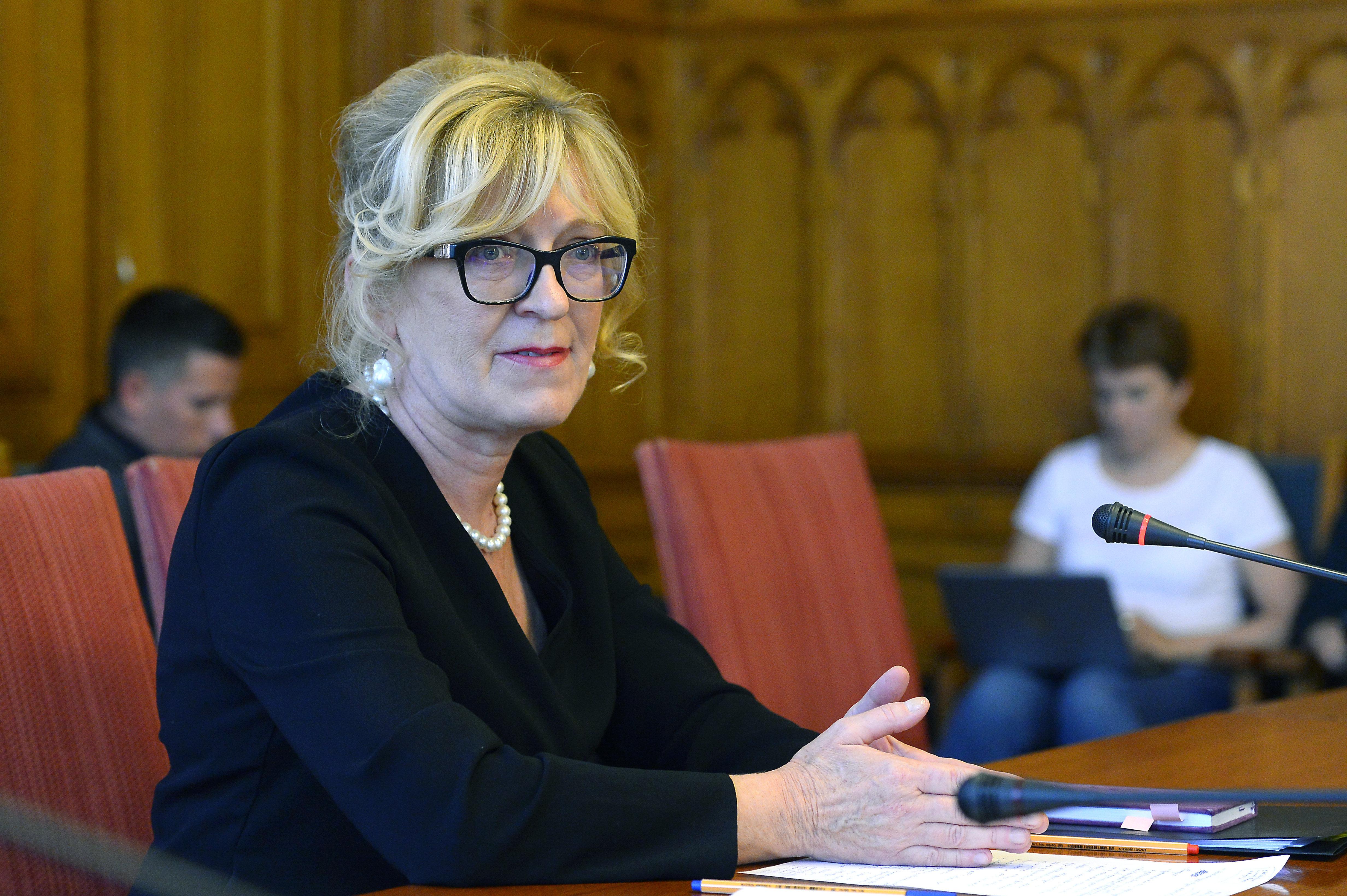 Az igazságügyi bizottság támogatja Handó Tünde alkotmánybírói kinevezését