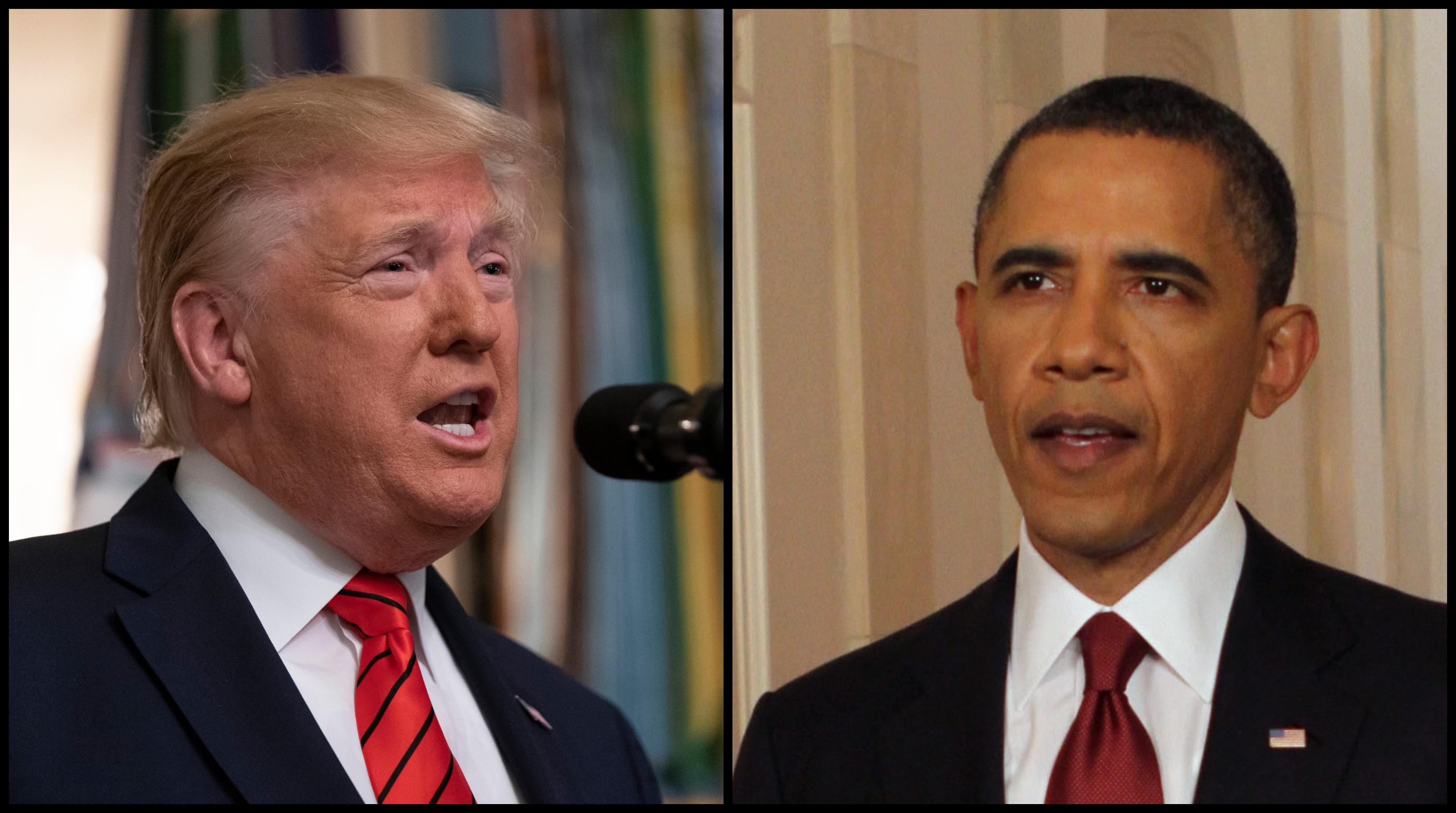 Néhány apró, hangsúlybeli különbség Obama és Trump nagy bejelentései között