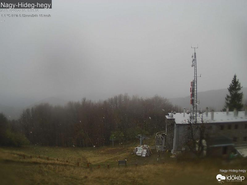 Havazik a Börzsönyben