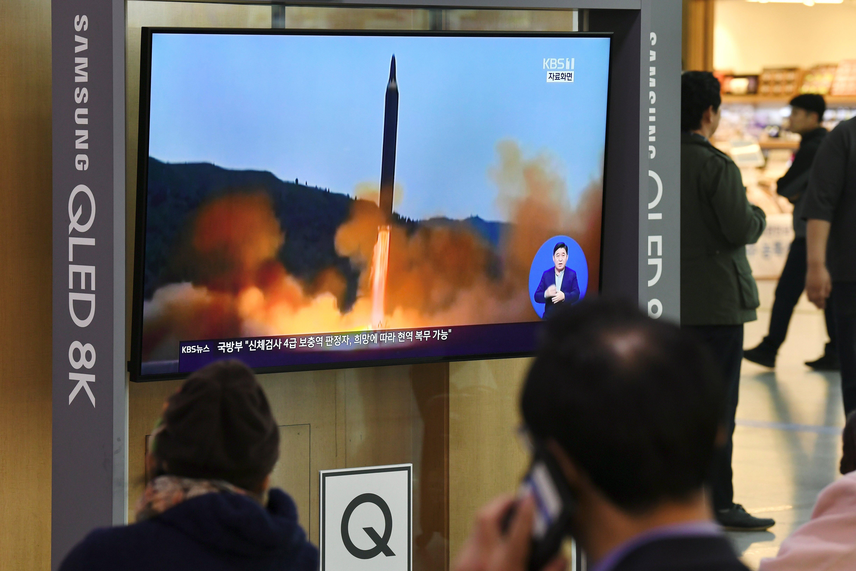 Észak-Korea kilőtt két rakétát a Japán-tengerbe