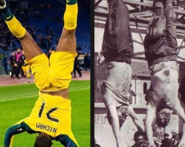 Spanyol lapok szerint felakasztott Mussolinivel ünnepelte a Lazio ellen lőtt gólját a Celtic focistája