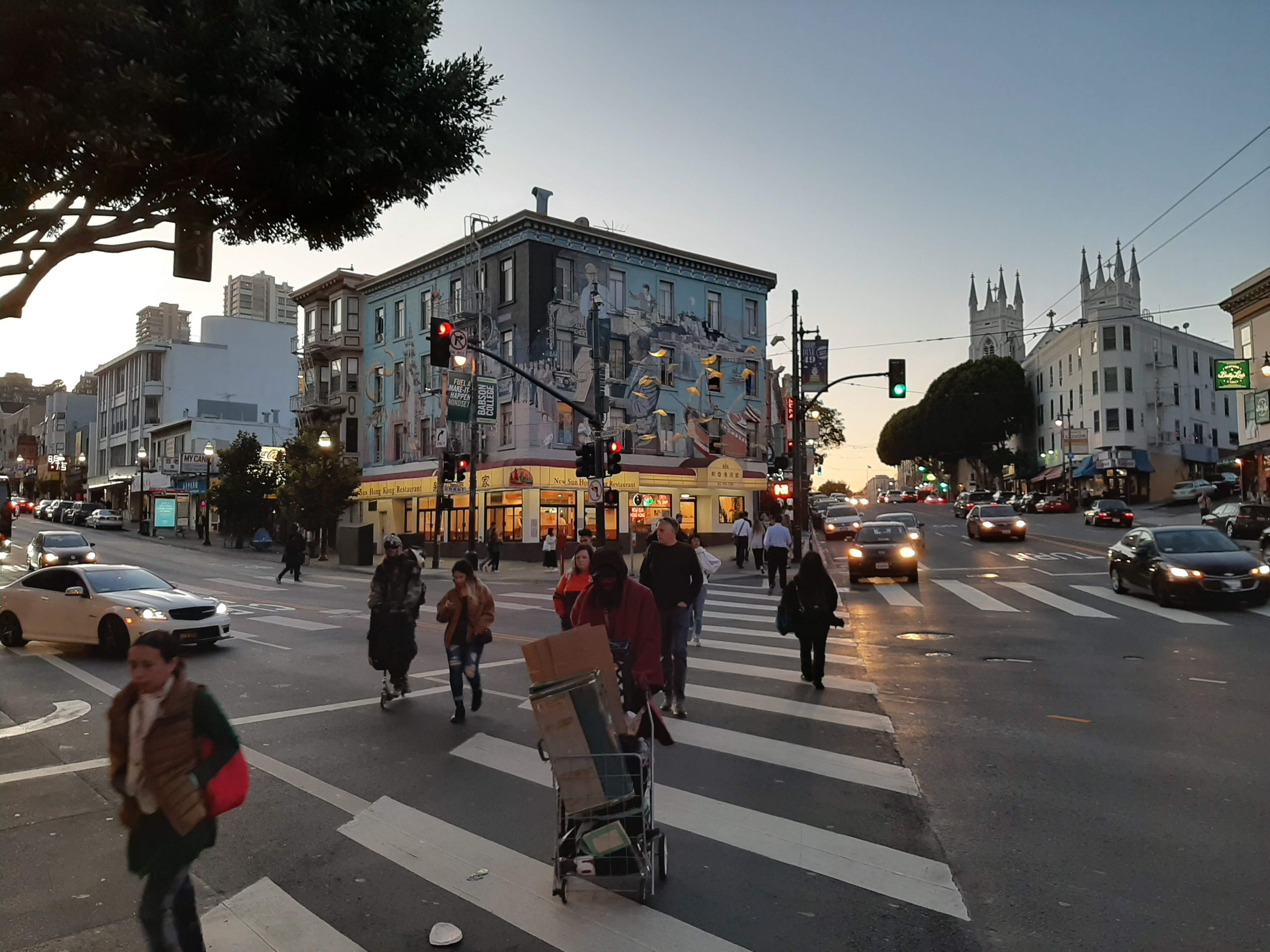 San Francisco utcáin szétszakadt a társadalom