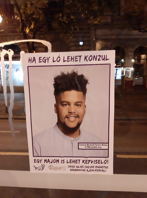 Valaki rasszista plakátokat rakott ki egy nyolcadik kerületi ellenzéki képviselőről
