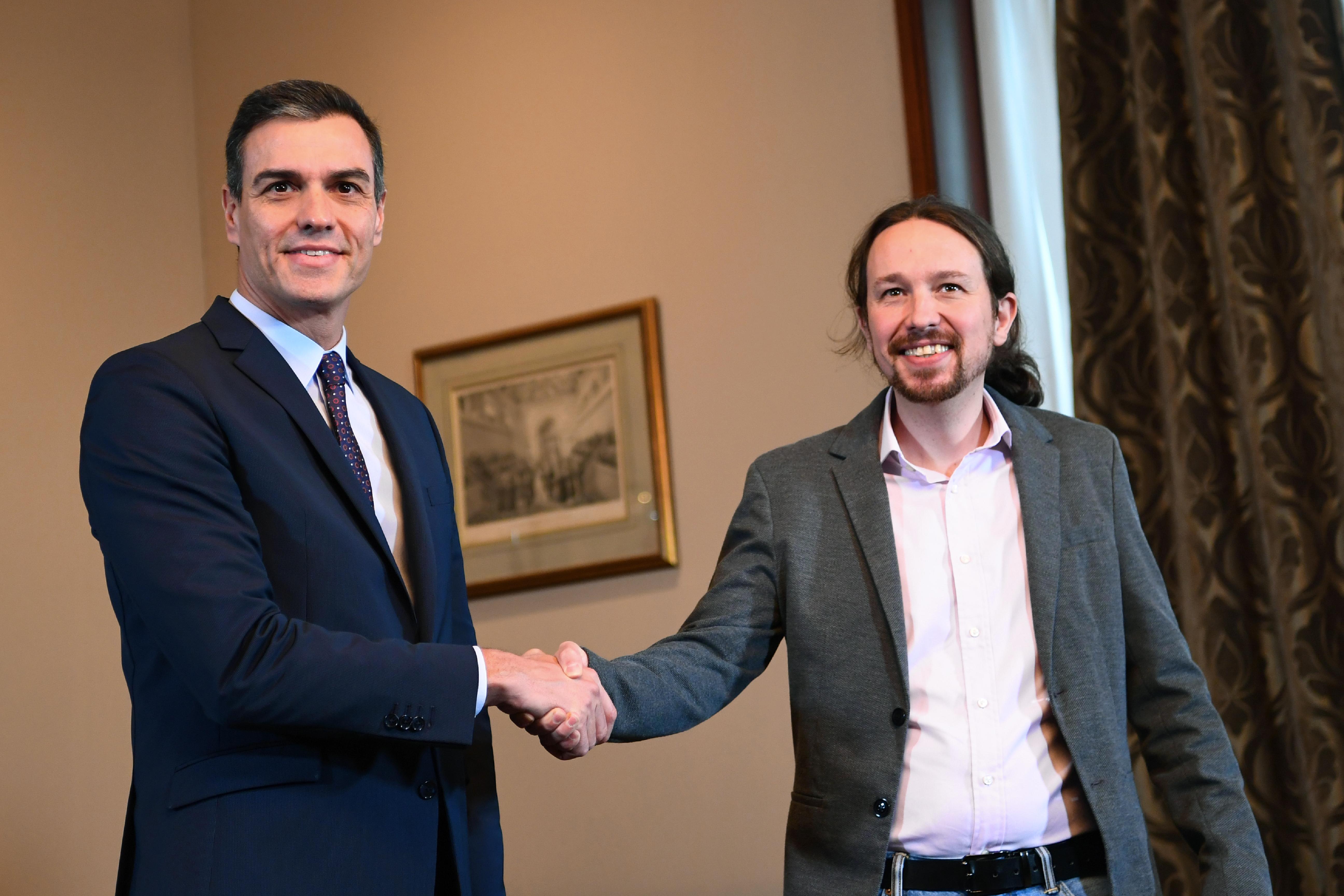Baloldali koalíciós kormánya lehet Spanyolországnak