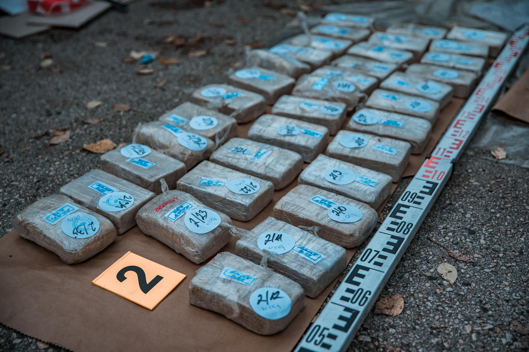 Zsírkőként érkezett 275 kiló heroin Lengyelországba