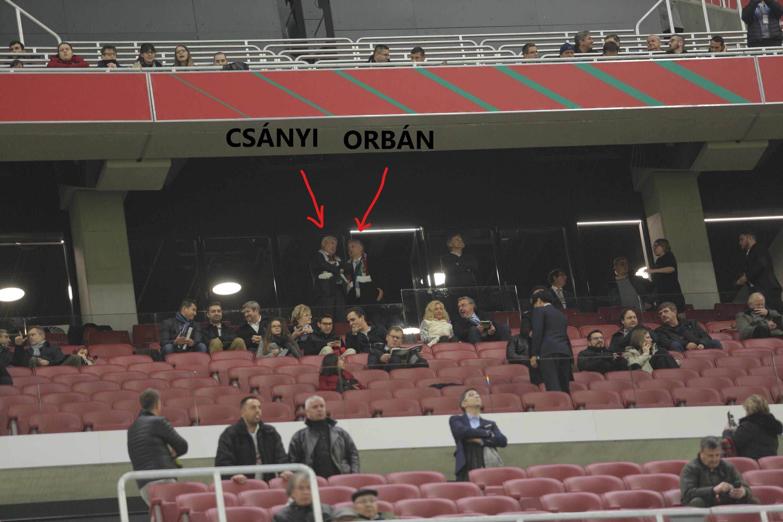 Megérkezett Orbán Viktor, Kövér László és Csányi Sándor is