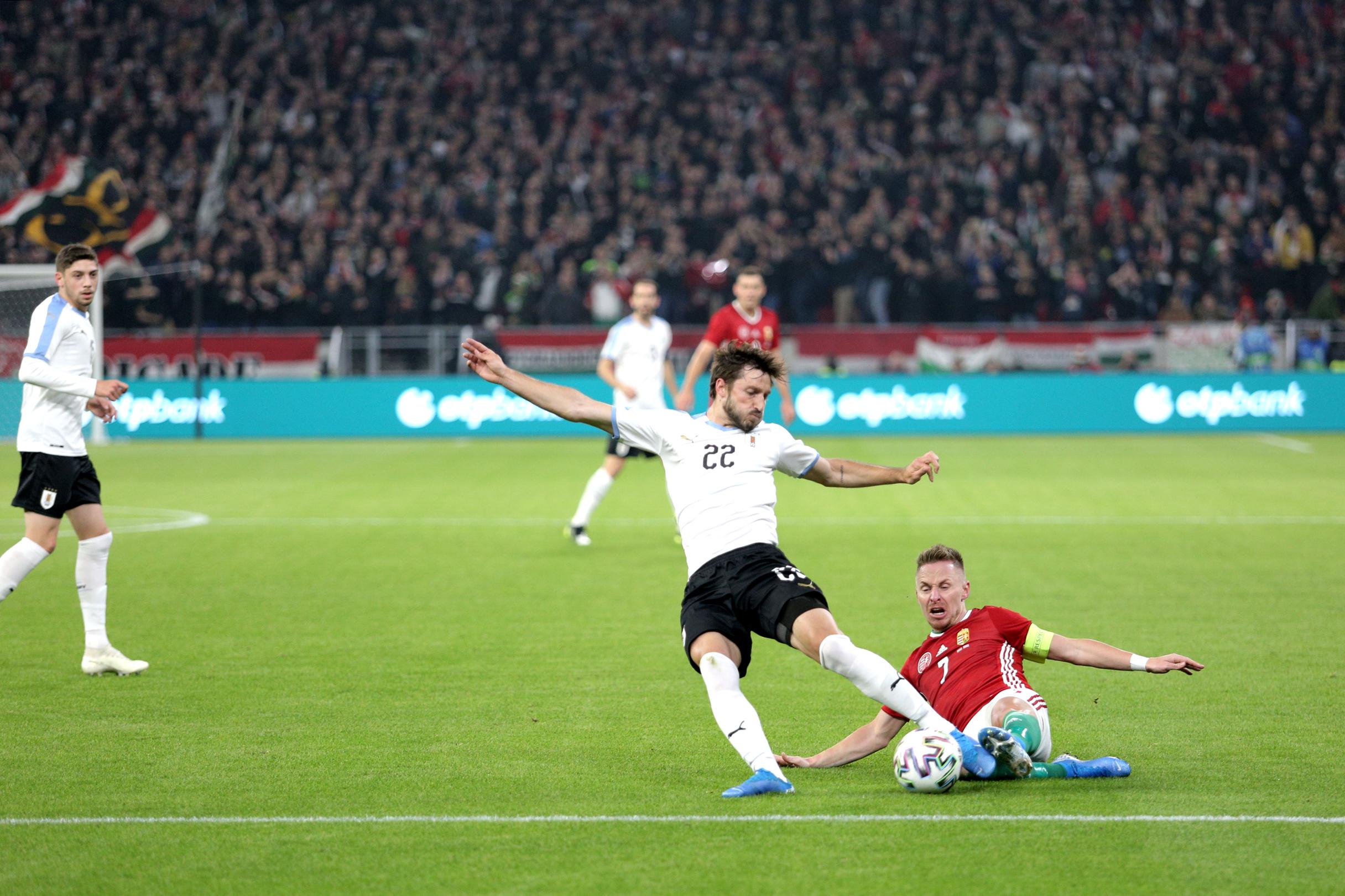 Nagy küzdelem után 2-1-re kikapott a magyar válogatott Uruguaytól a Puskás Aréna nyitómeccsén
