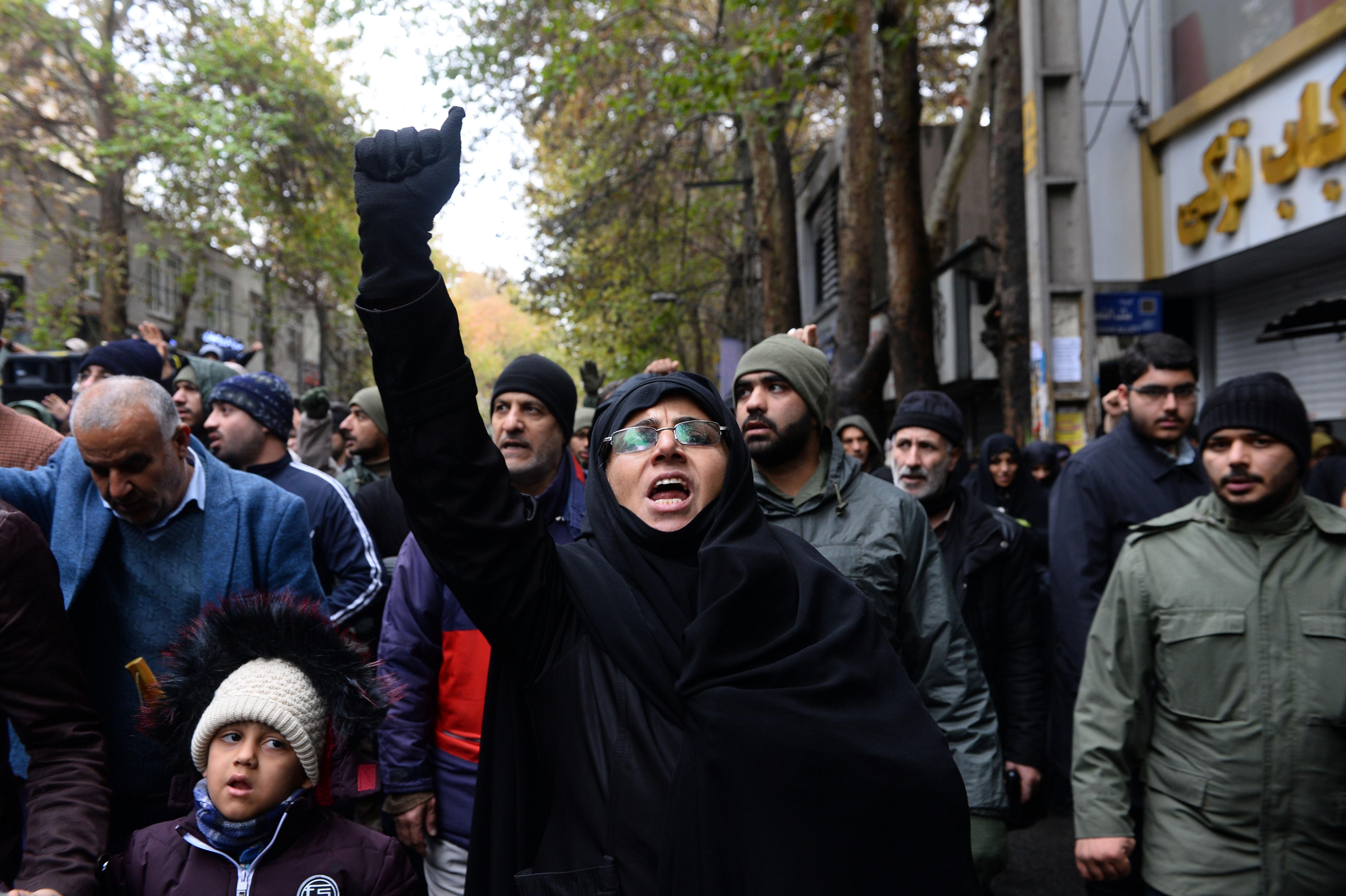 Letartóztatási hullám Iránban