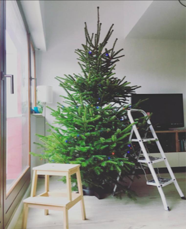 Valaki november 23-án kiposztolt az Instagramra egy fotót a felállított karácsonyfájáról