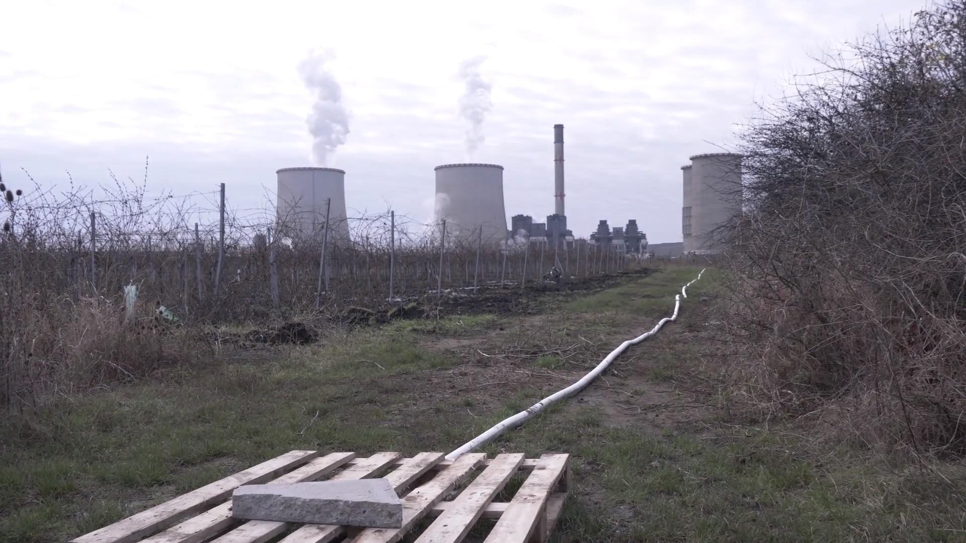 Greenpeace: A Mátrai Erőmű környékén szennyvíz folyik a patakokban