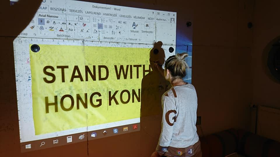 Kínai ellentüntetők is lesznek a csütörtöki budapesti Hongkong-párti demonstráción