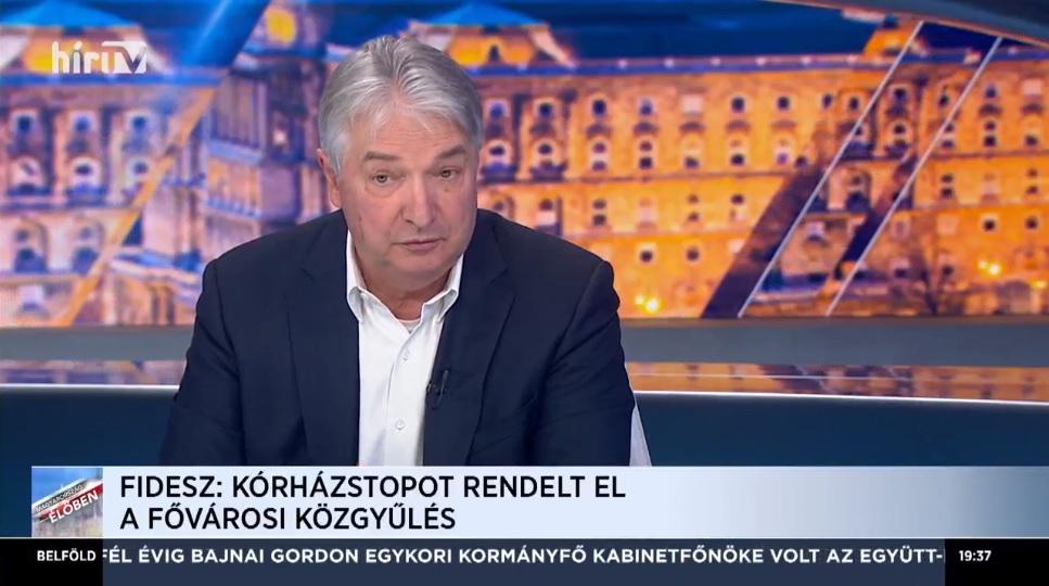 Pesti Imre: Az ellenzék rombolja az emberek egészségügybe vetett hitét