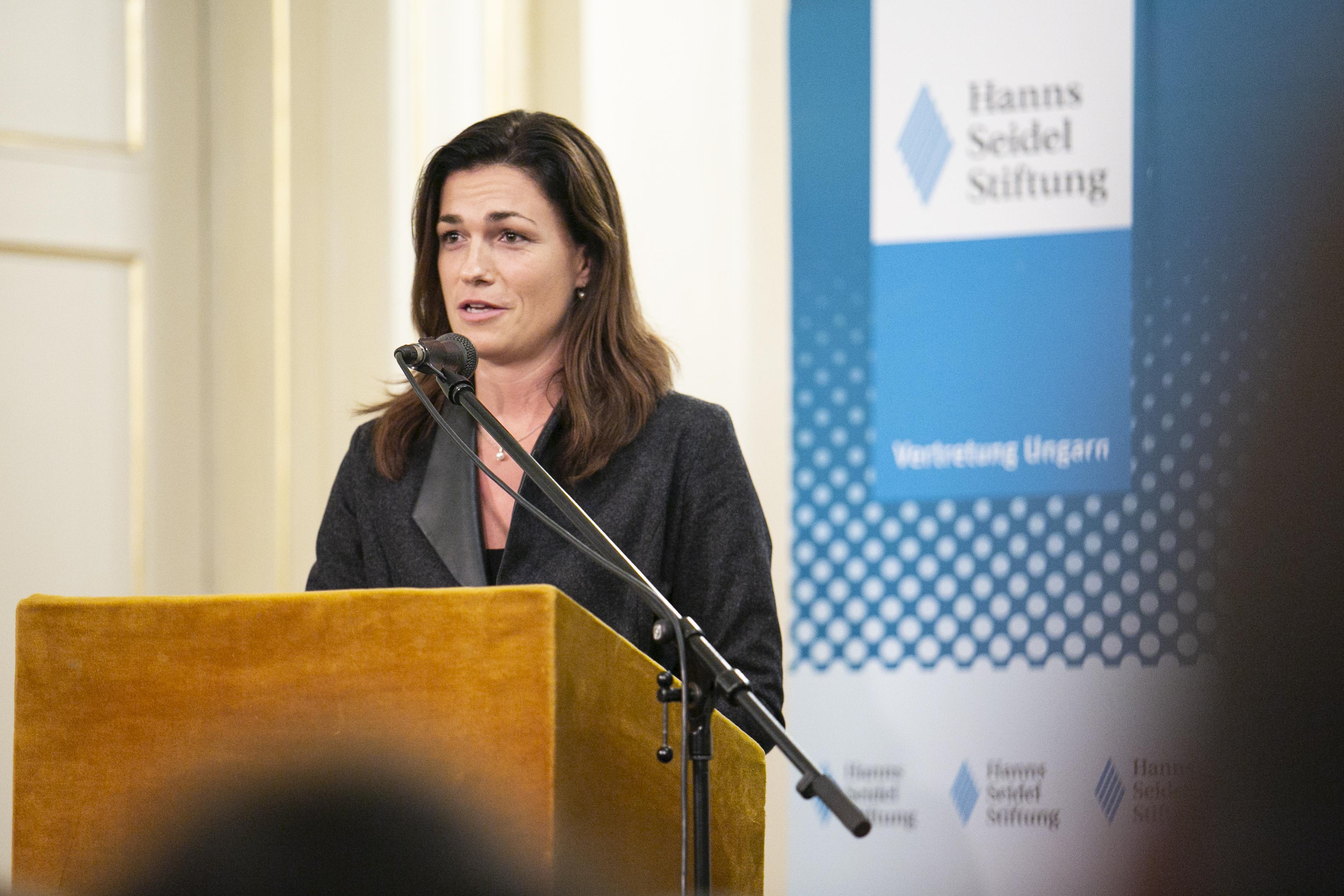 Varga Judit: Eljött a keresztény-konzervatív zöld politika ideje
