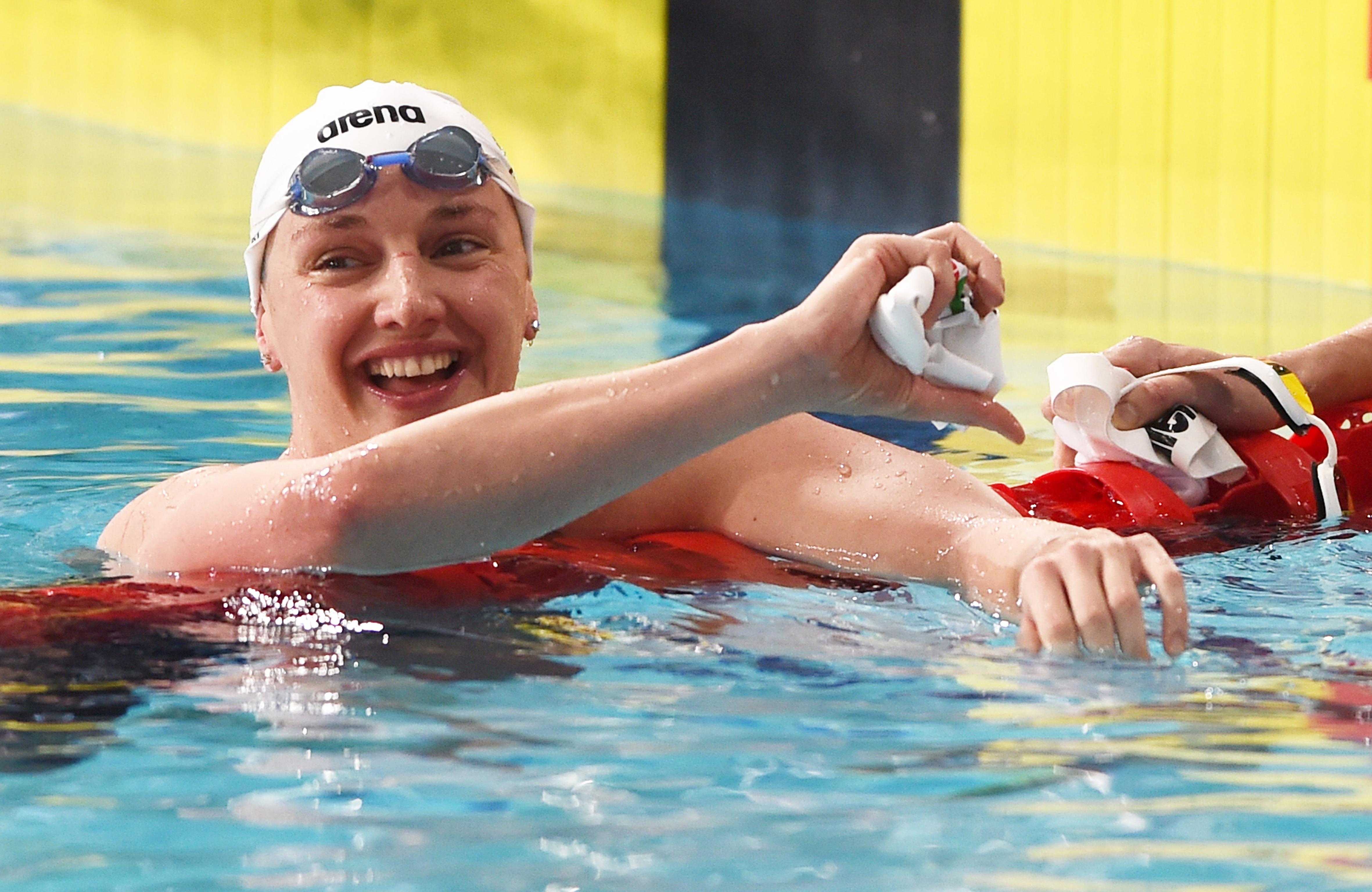 Hosszú Katinka szállította a magyar úszósport történetének 1000. érmét