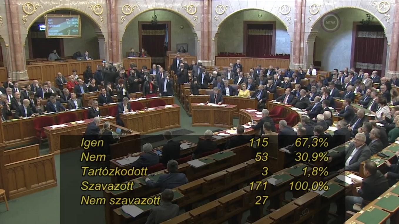 Megszavazták a kulturális törvényt a kormánypártok