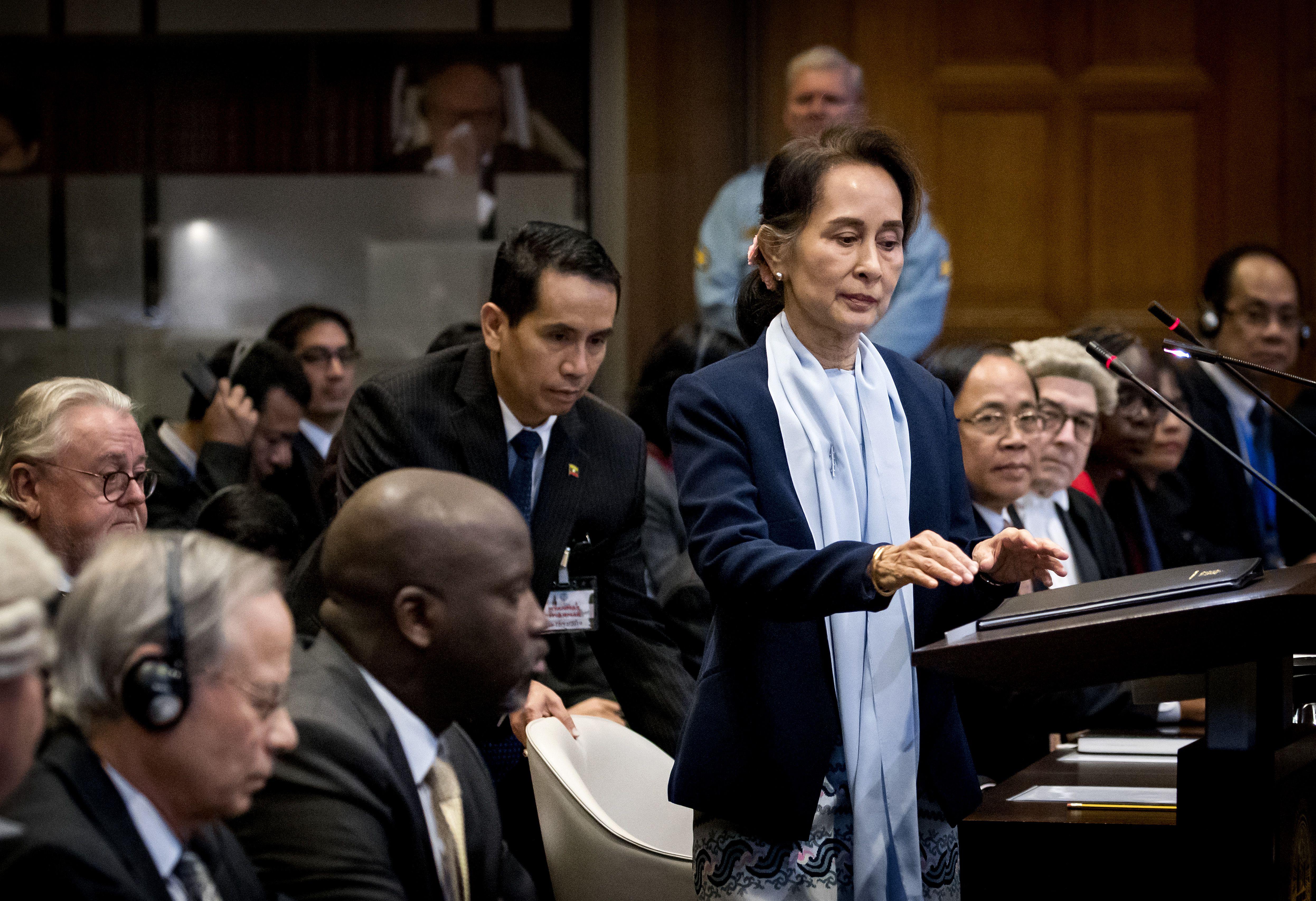 A hágai Nemzetközi Bíróság felszólította Mianmart, gondoskodjon az országban maradt rohingyák védelméről